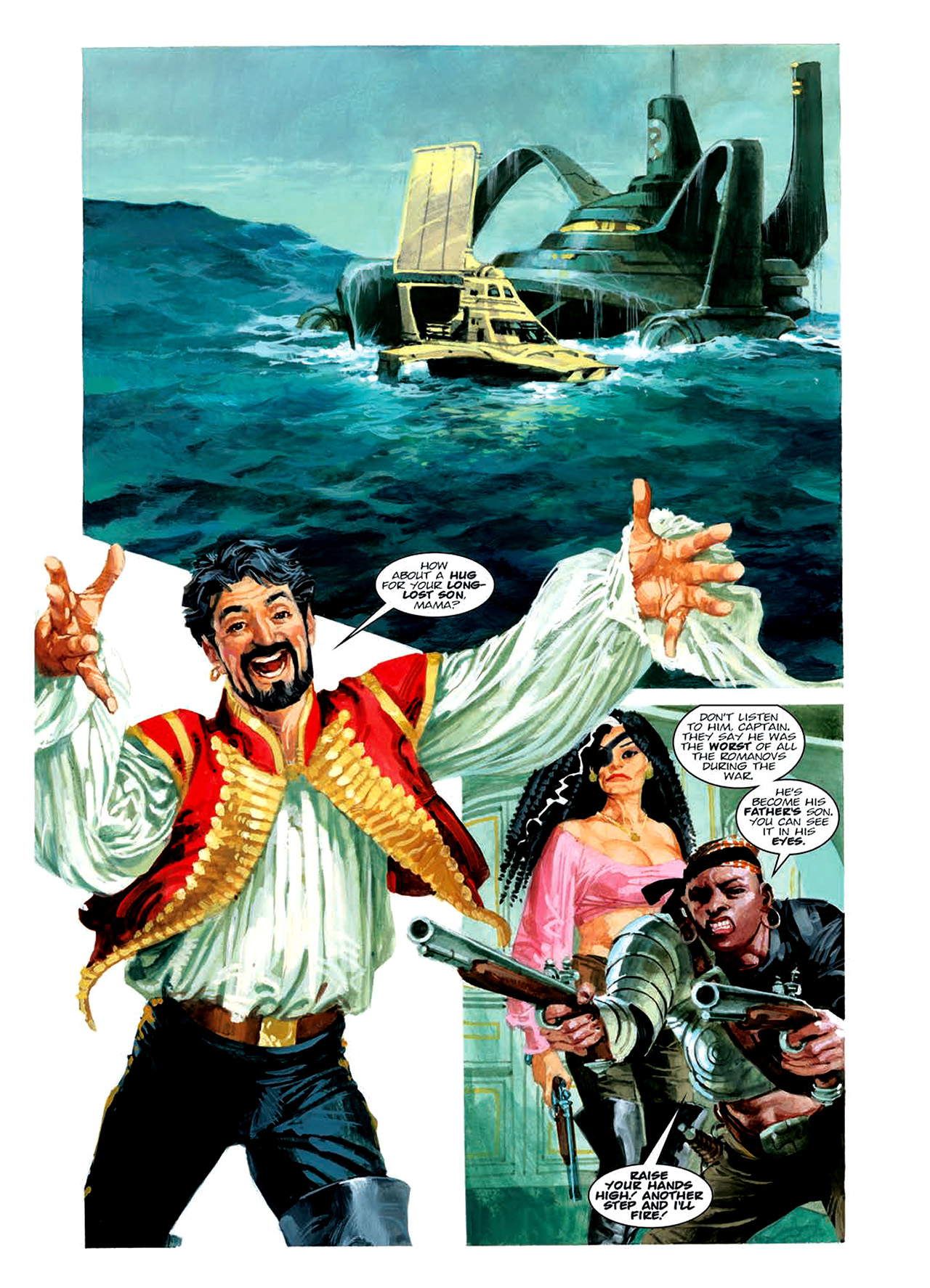 Read online Nikolai Dante comic -  Issue # TPB 6 - 121