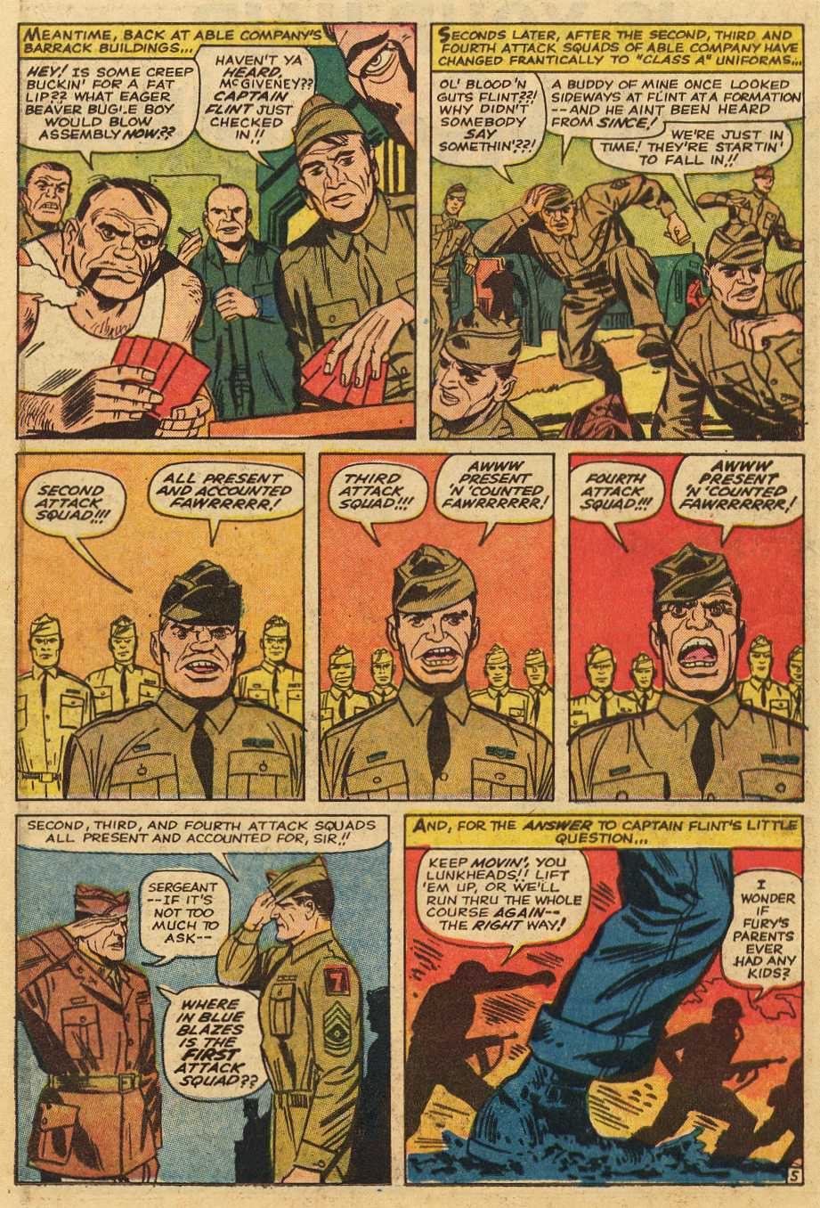 Read online Sgt. Fury comic -  Issue # _Special 2 - 46