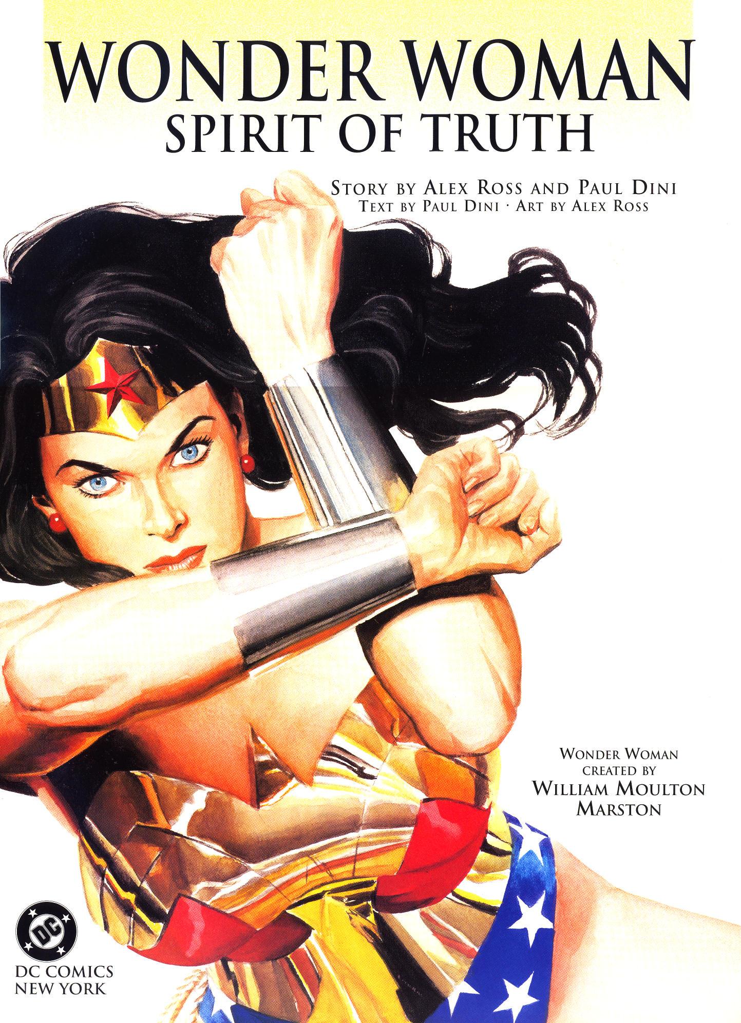 Read online Wonder Woman: Spirit of Truth comic -  Issue # Full - 4