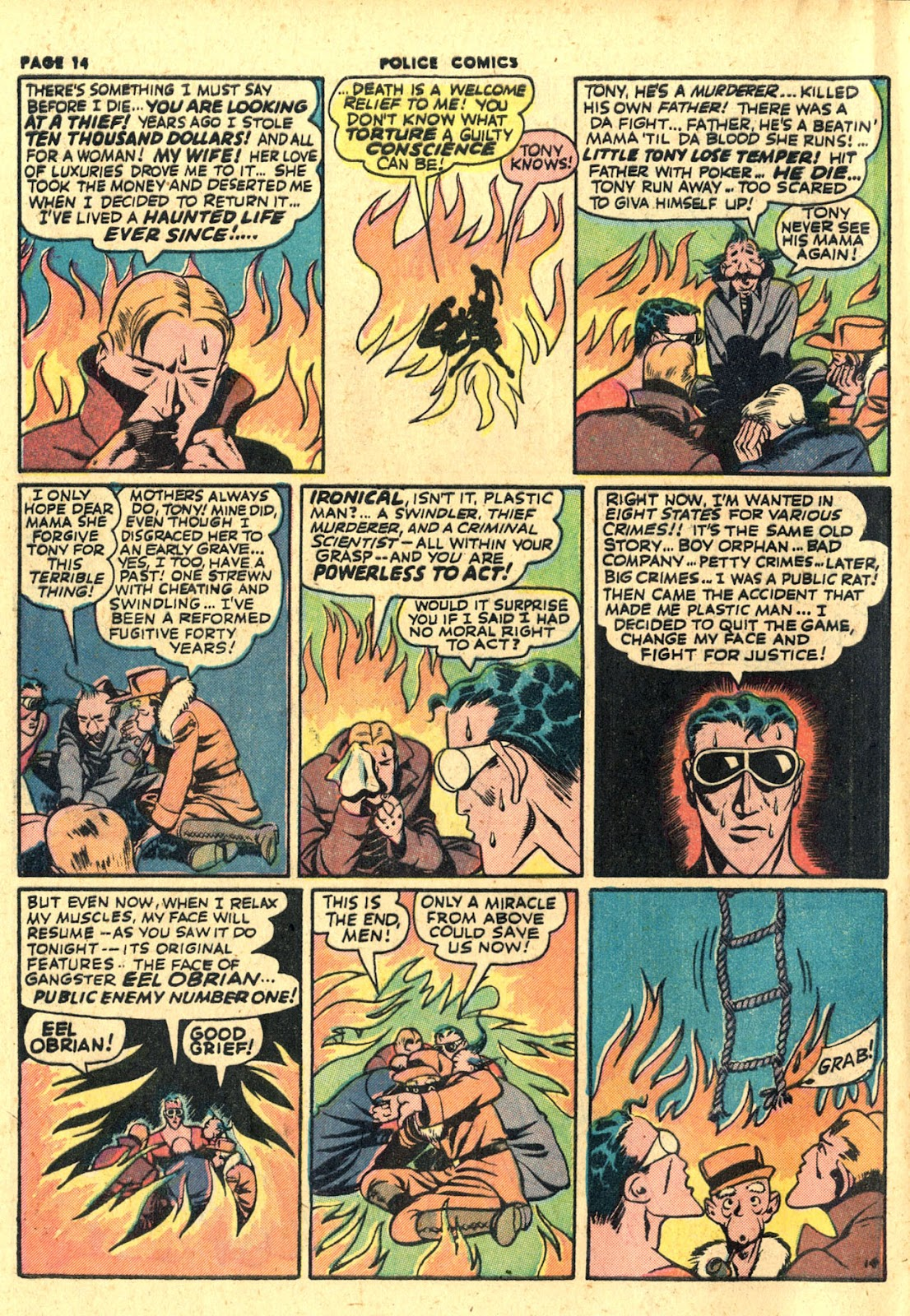 Police Comics issue 19 - Page 16
