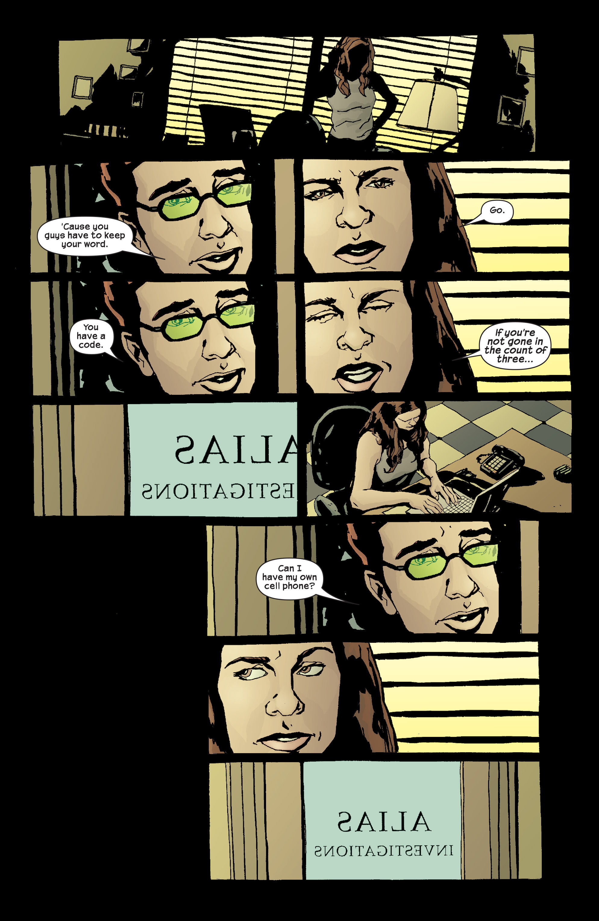Read online Alias comic -  Issue #17 - 15