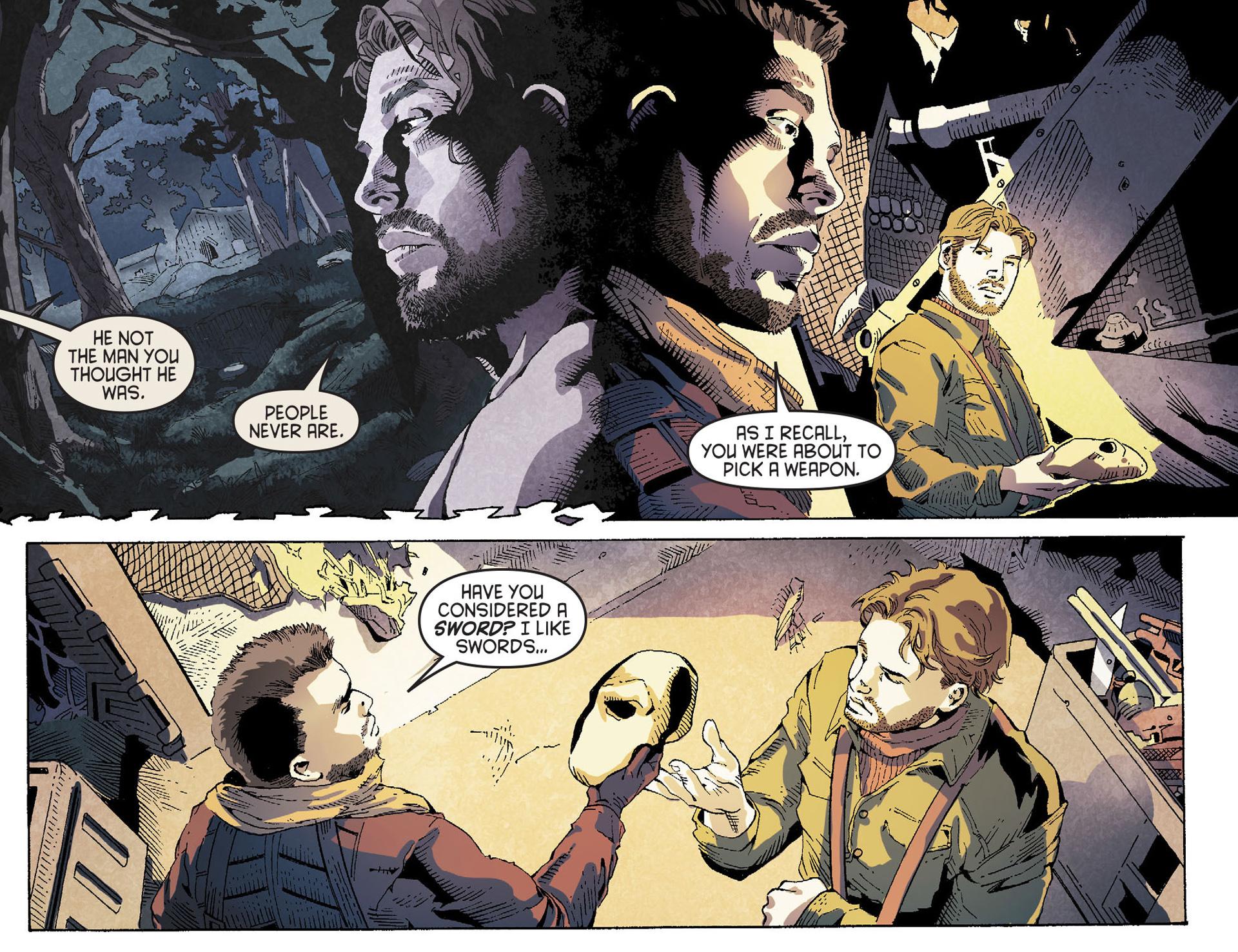 Read online Arrow [II] comic -  Issue #19 - 21