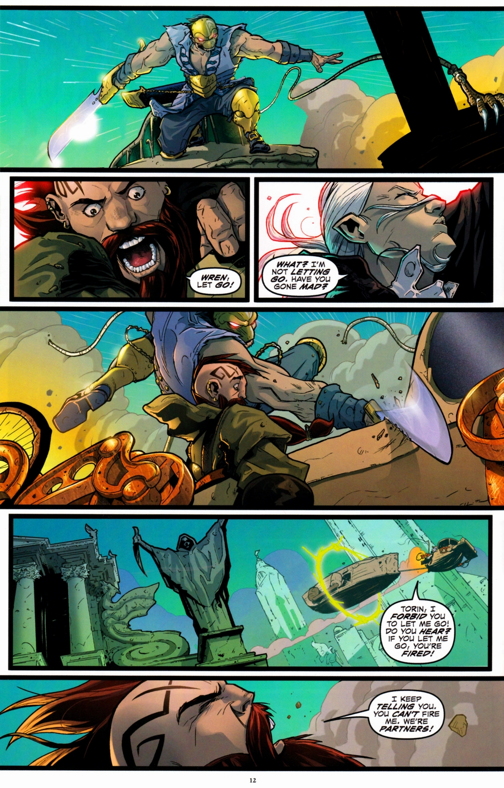 Read online Infestation 2: Dungeons & Dragons comic -  Issue #1 - 15