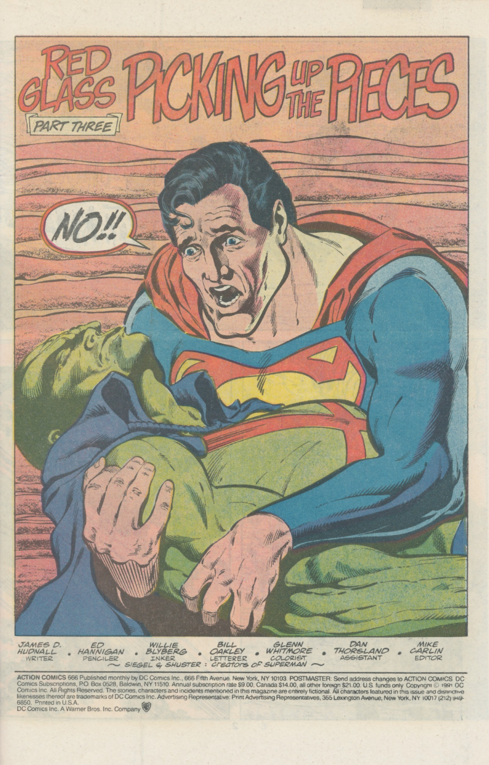 Read online Action Comics (1938) comic -  Issue #666 - 3