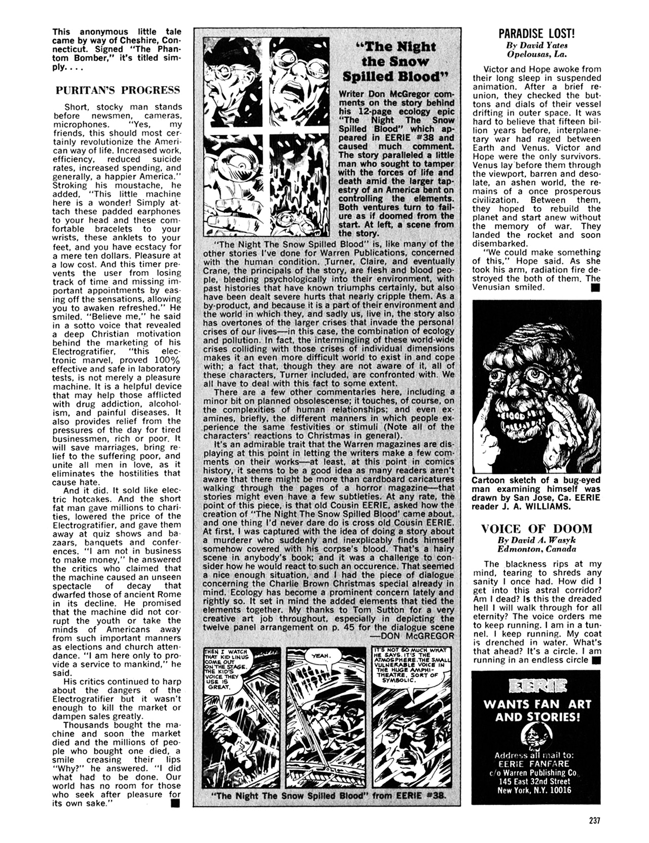 Read online Eerie Archives comic -  Issue # TPB 8 - 238