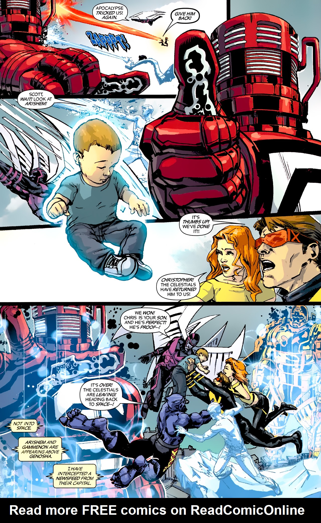 Read online X-Factor Forever comic -  Issue #5 - 12