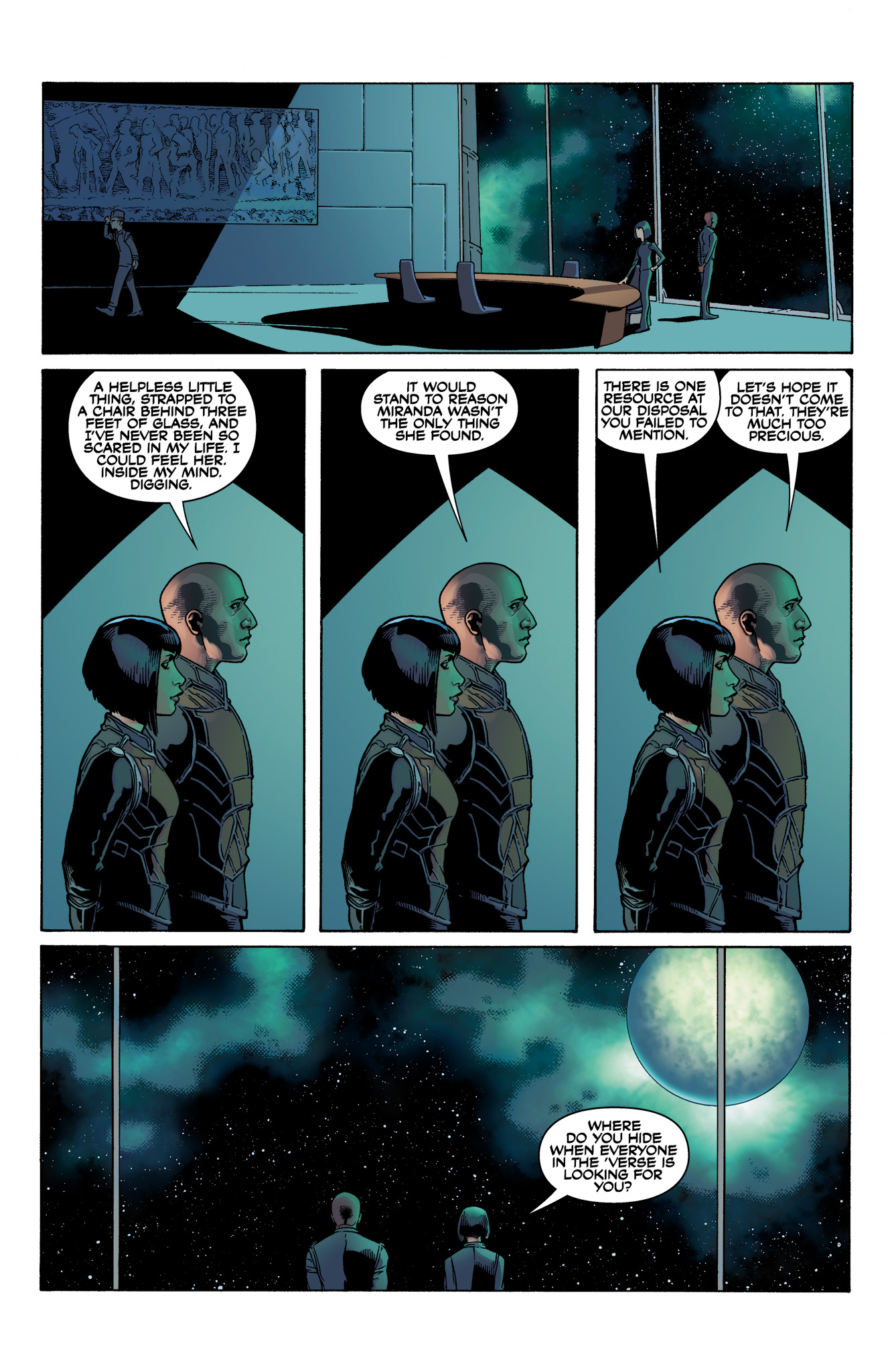 Read online Serenity: Firefly Class 03-K64  Leaves on the Wind comic -  Issue #1 - 7