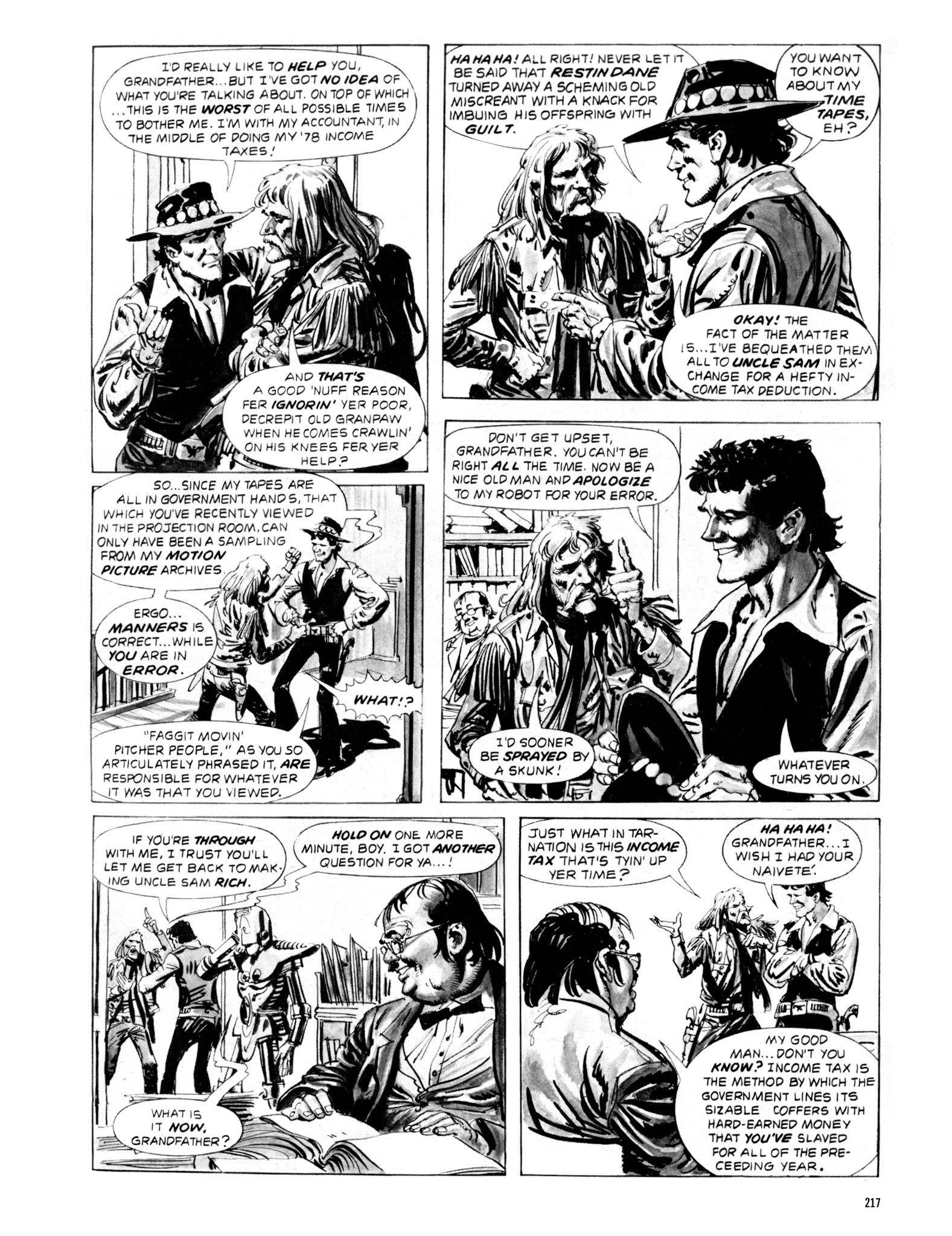 Read online Eerie Archives comic -  Issue # TPB 20 - 217