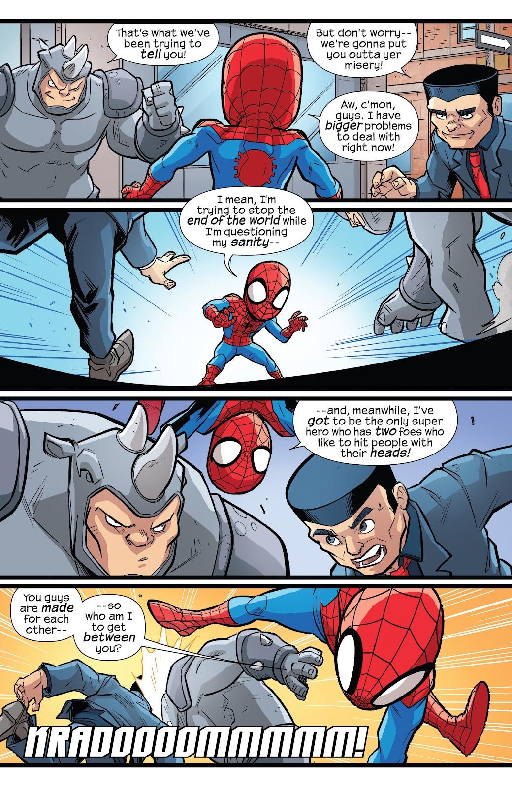 Read online Marvel Super Hero Adventures: Spider-Man – Web Designers comic -  Issue # Full - 18