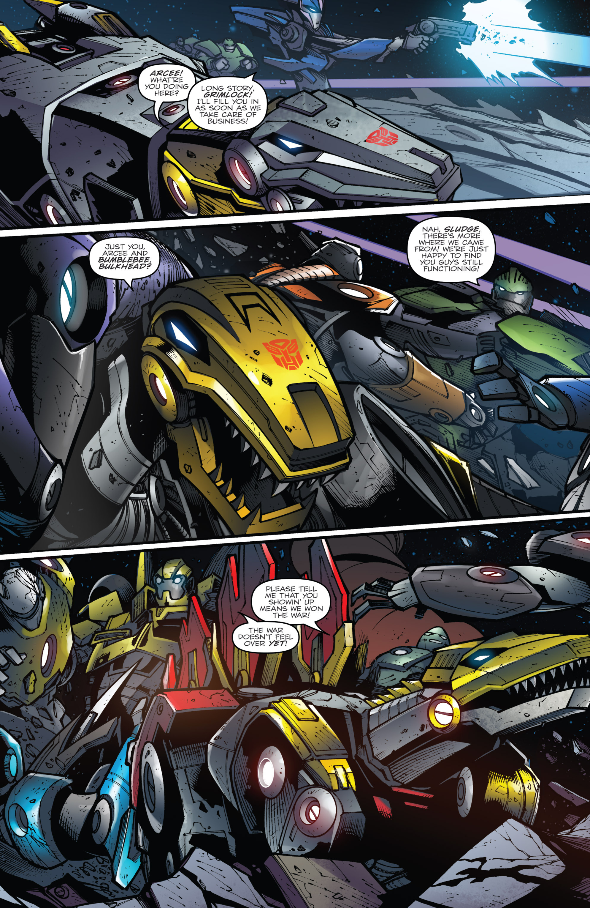 Read online Transformers Prime: Beast Hunters comic -  Issue #8 - 5