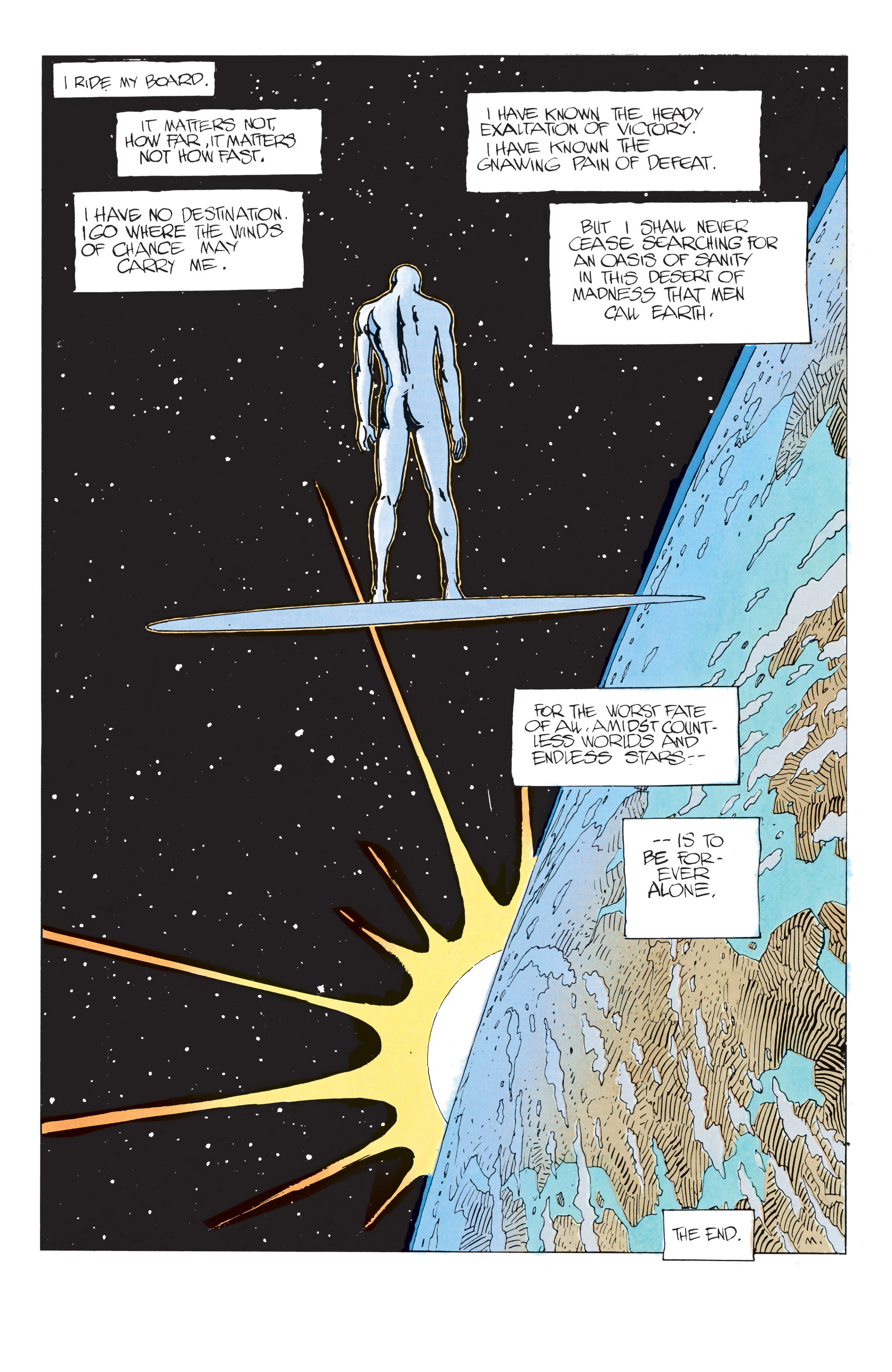 Read online Silver Surfer: Parable comic -  Issue # TPB - 55