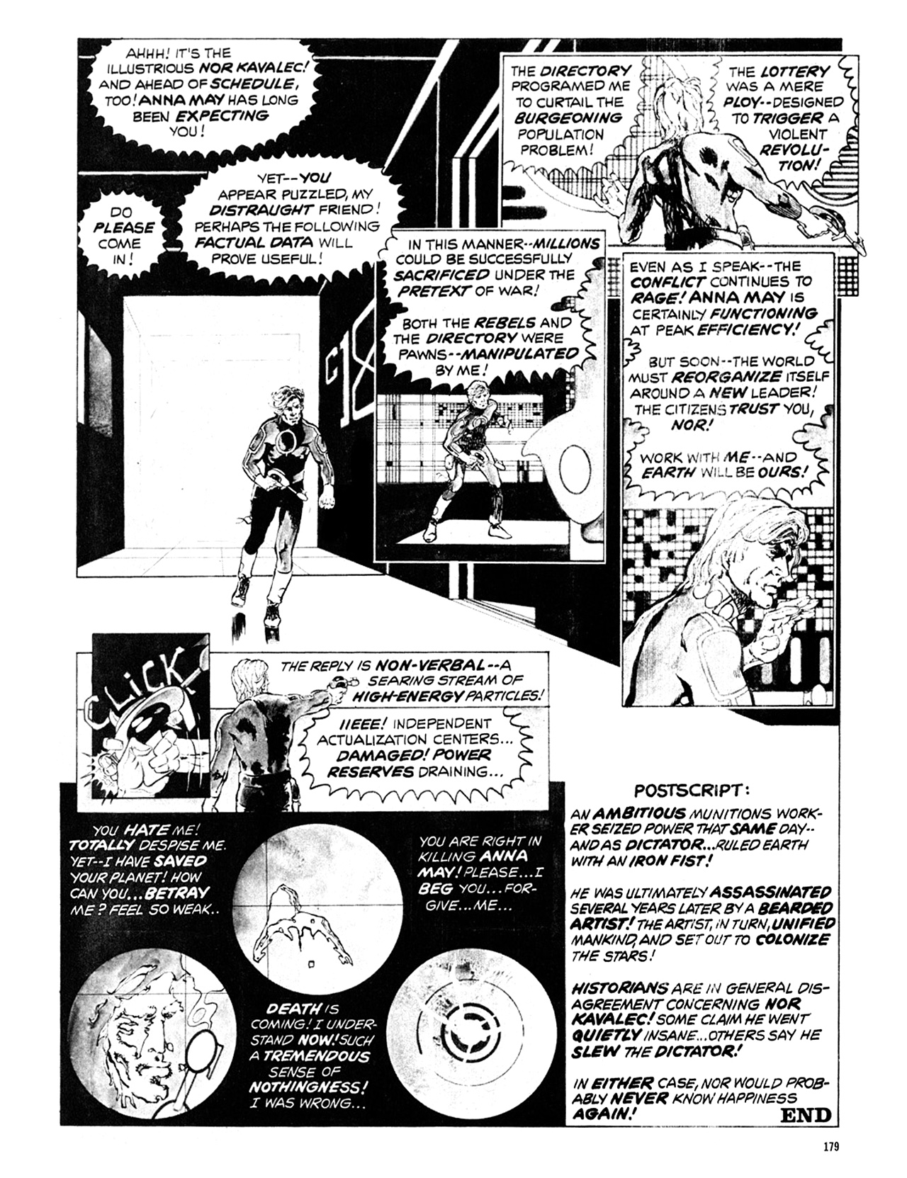 Read online Eerie Archives comic -  Issue # TPB 10 - 180