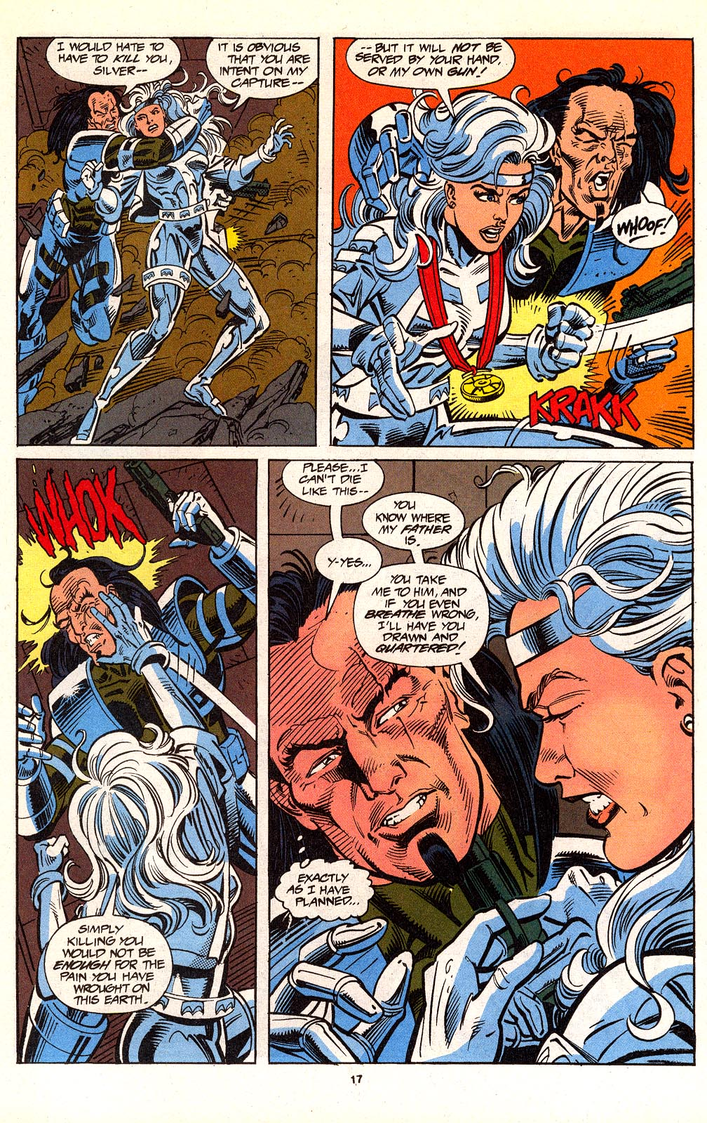 Read online Silver Sable and the Wild Pack comic -  Issue #24 - 14