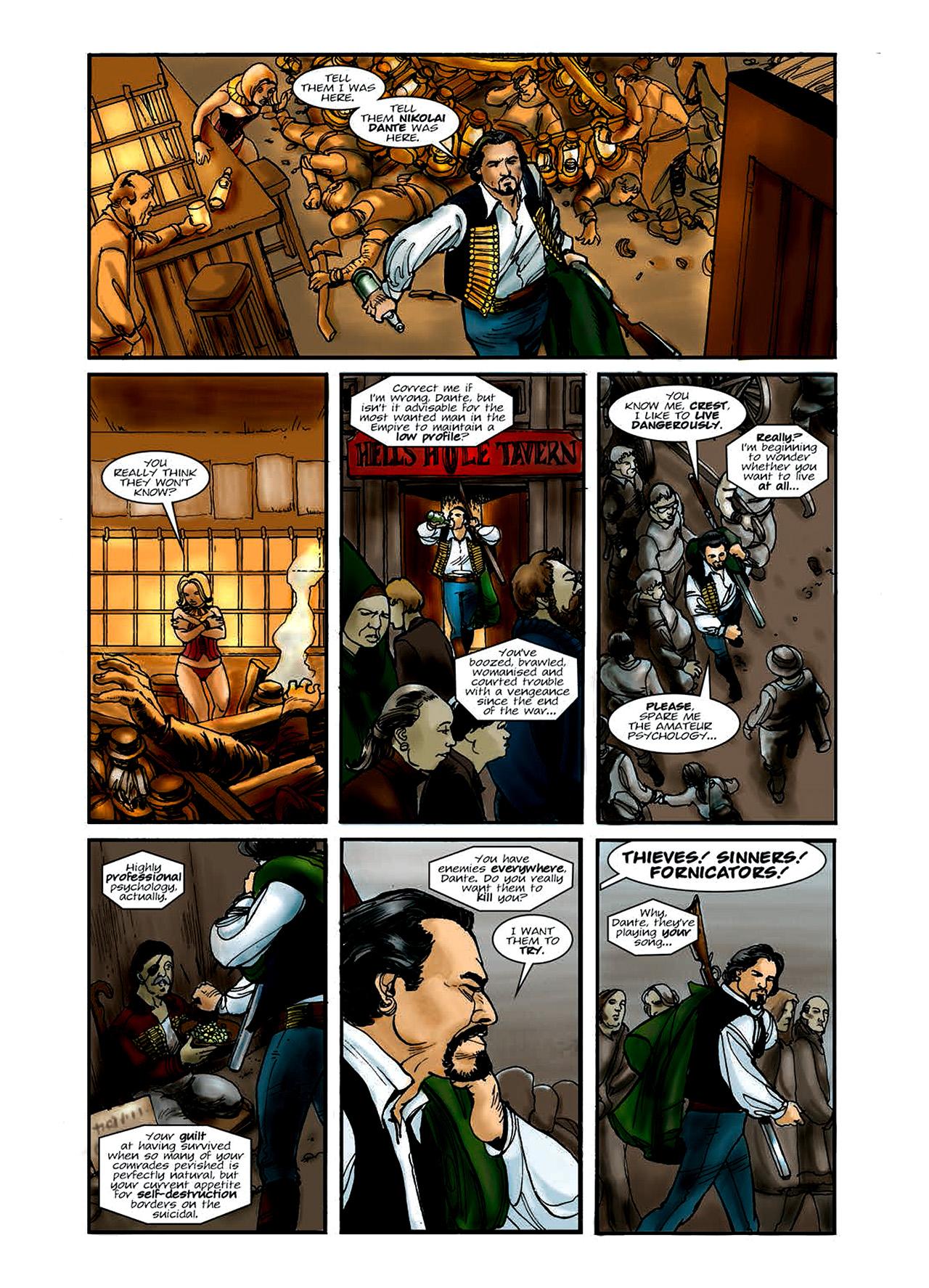 Read online Nikolai Dante comic -  Issue # TPB 6 - 15