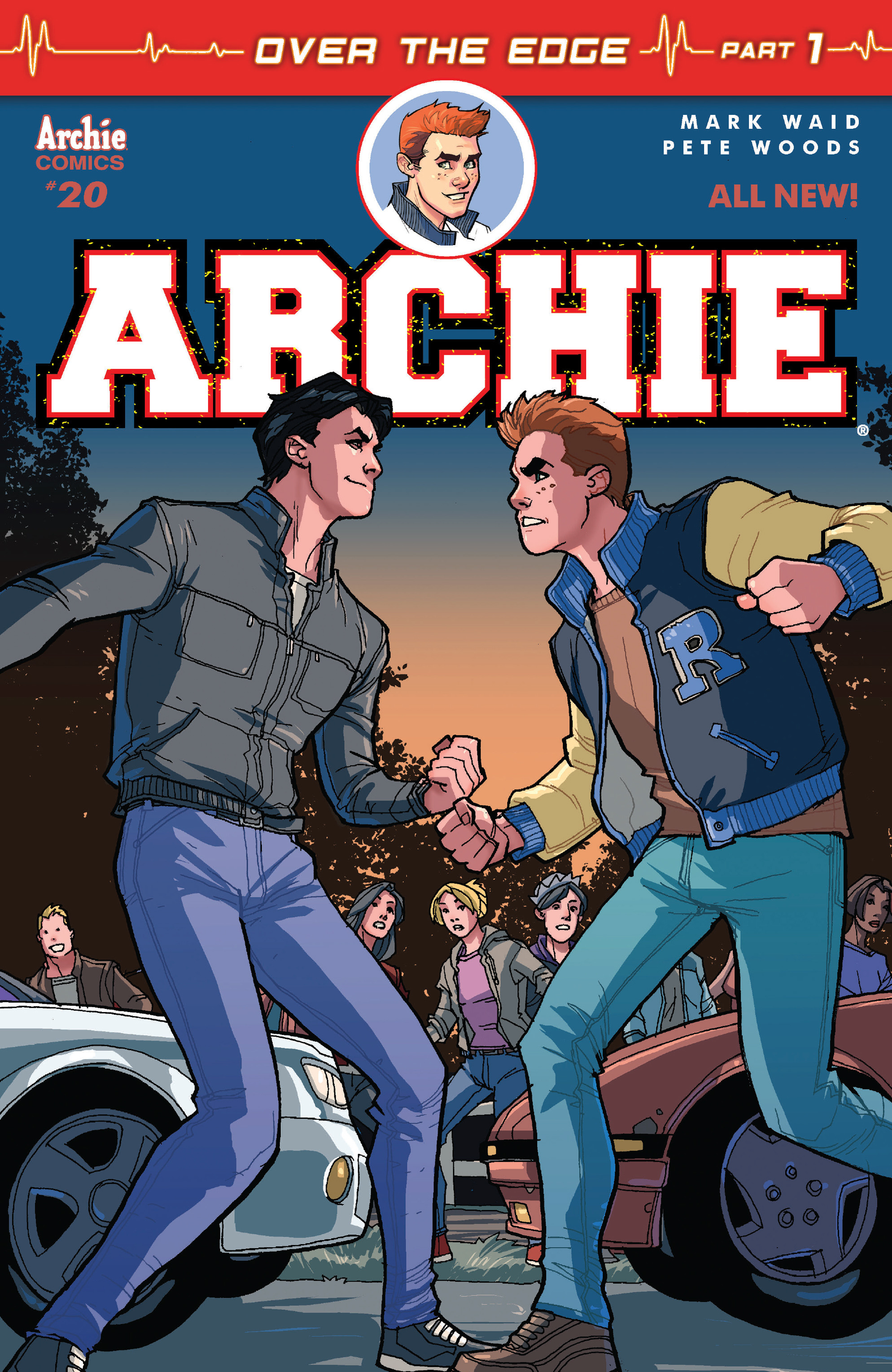 Read online Archie (2015) comic -  Issue #20 - 1