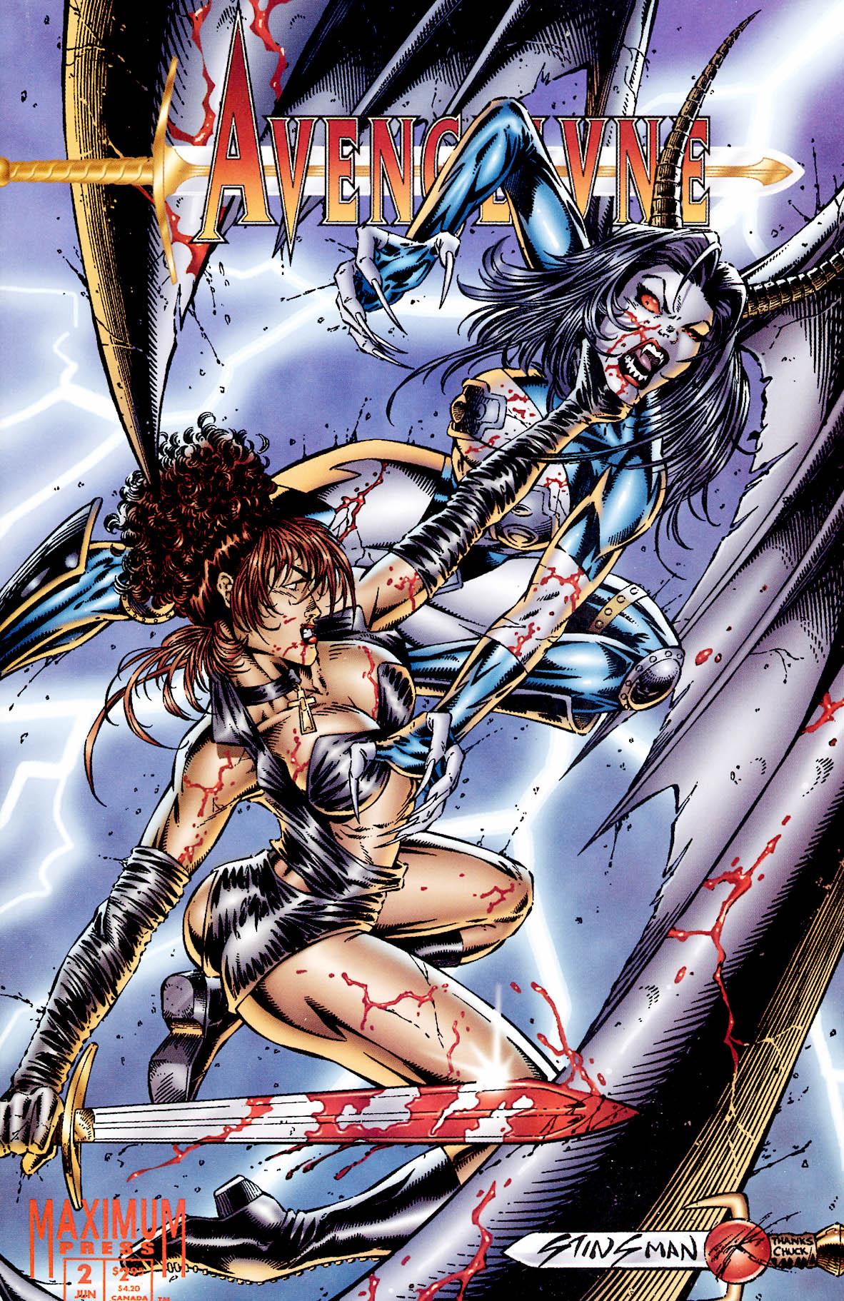Read online Avengelyne (1995) comic -  Issue #2 - 1
