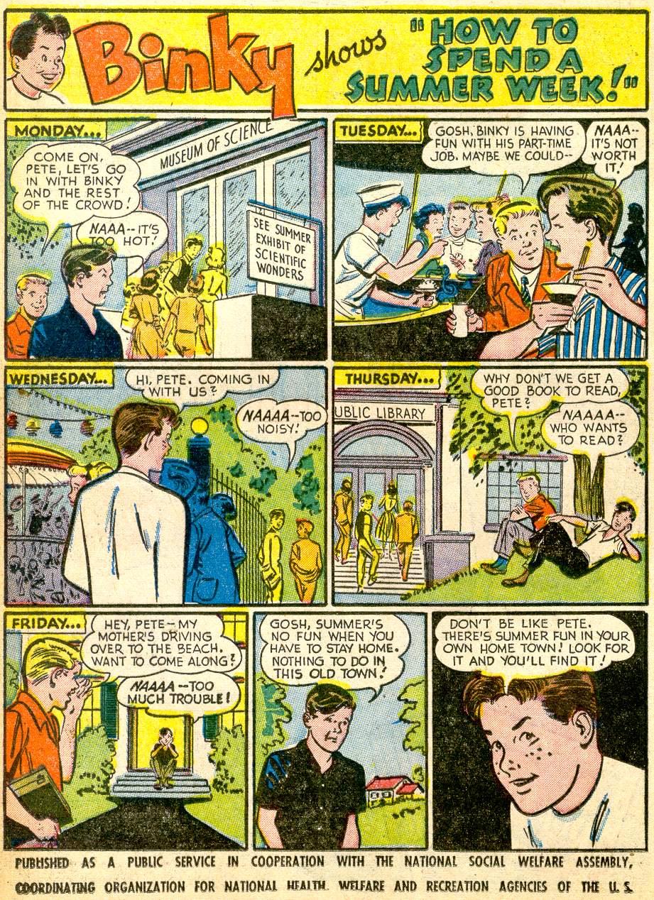 Read online Adventure Comics (1938) comic -  Issue #191 - 24