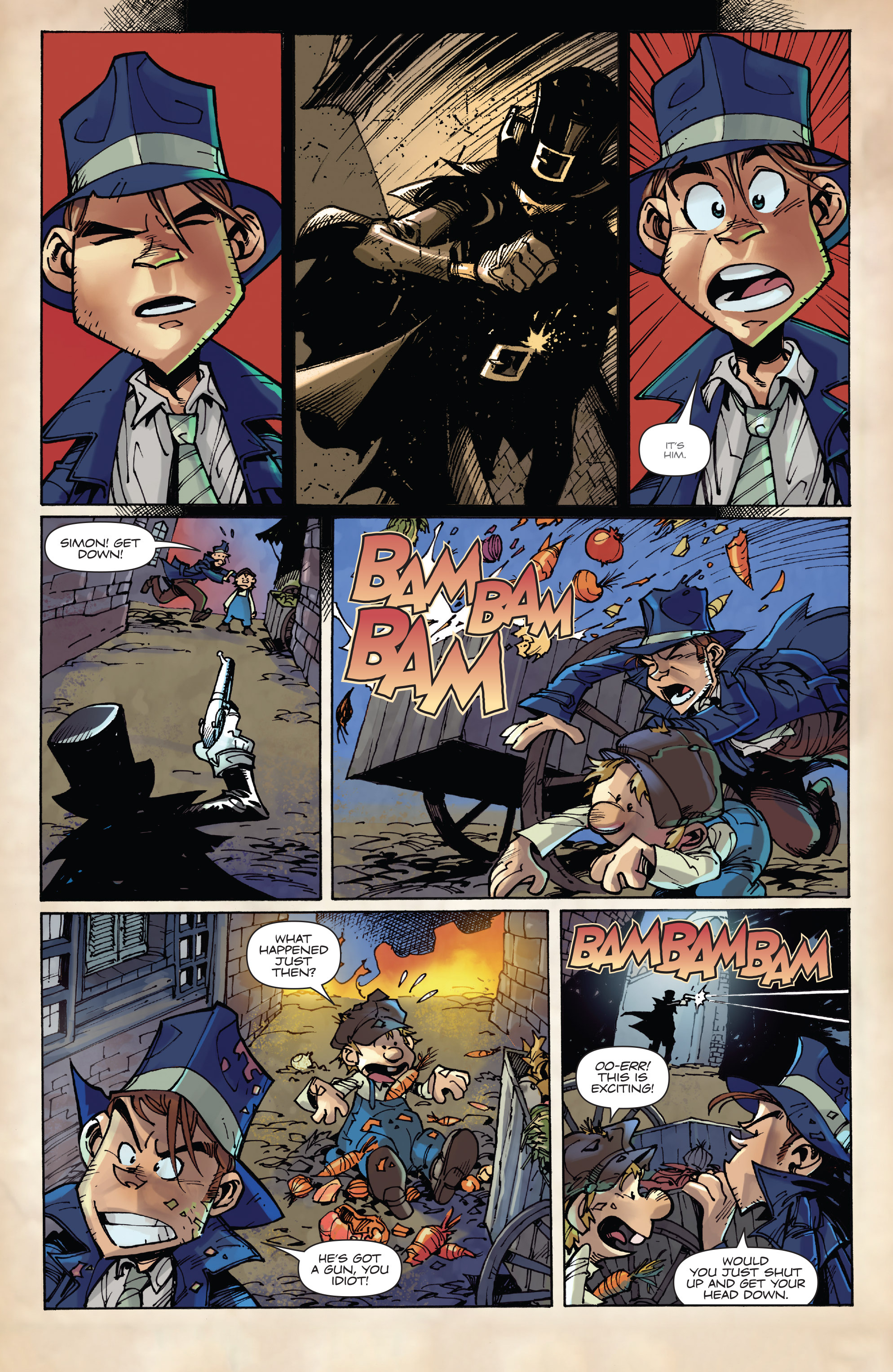 Read online Fiction Squad comic -  Issue #3 - 20
