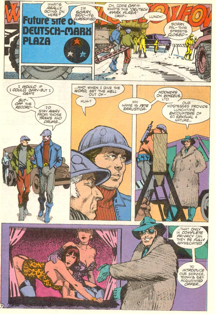 Read online American Flagg! comic -  Issue #12 - 8