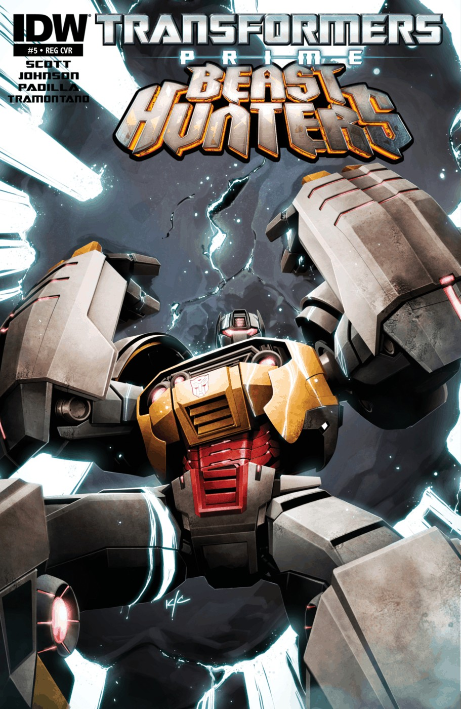 Read online Transformers Prime: Beast Hunters comic -  Issue #5 - 1