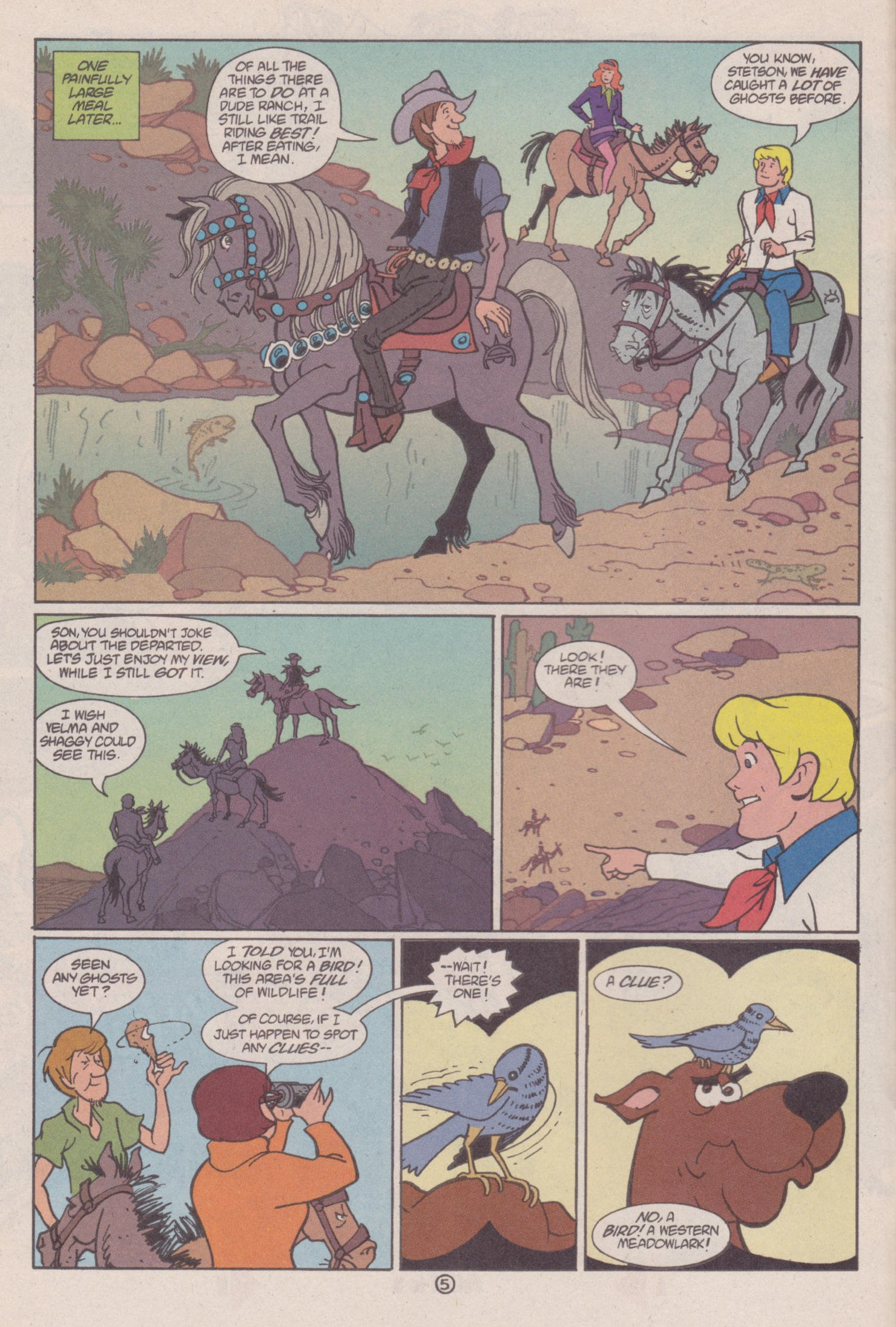 Read online Scooby-Doo (1997) comic -  Issue #6 - 6