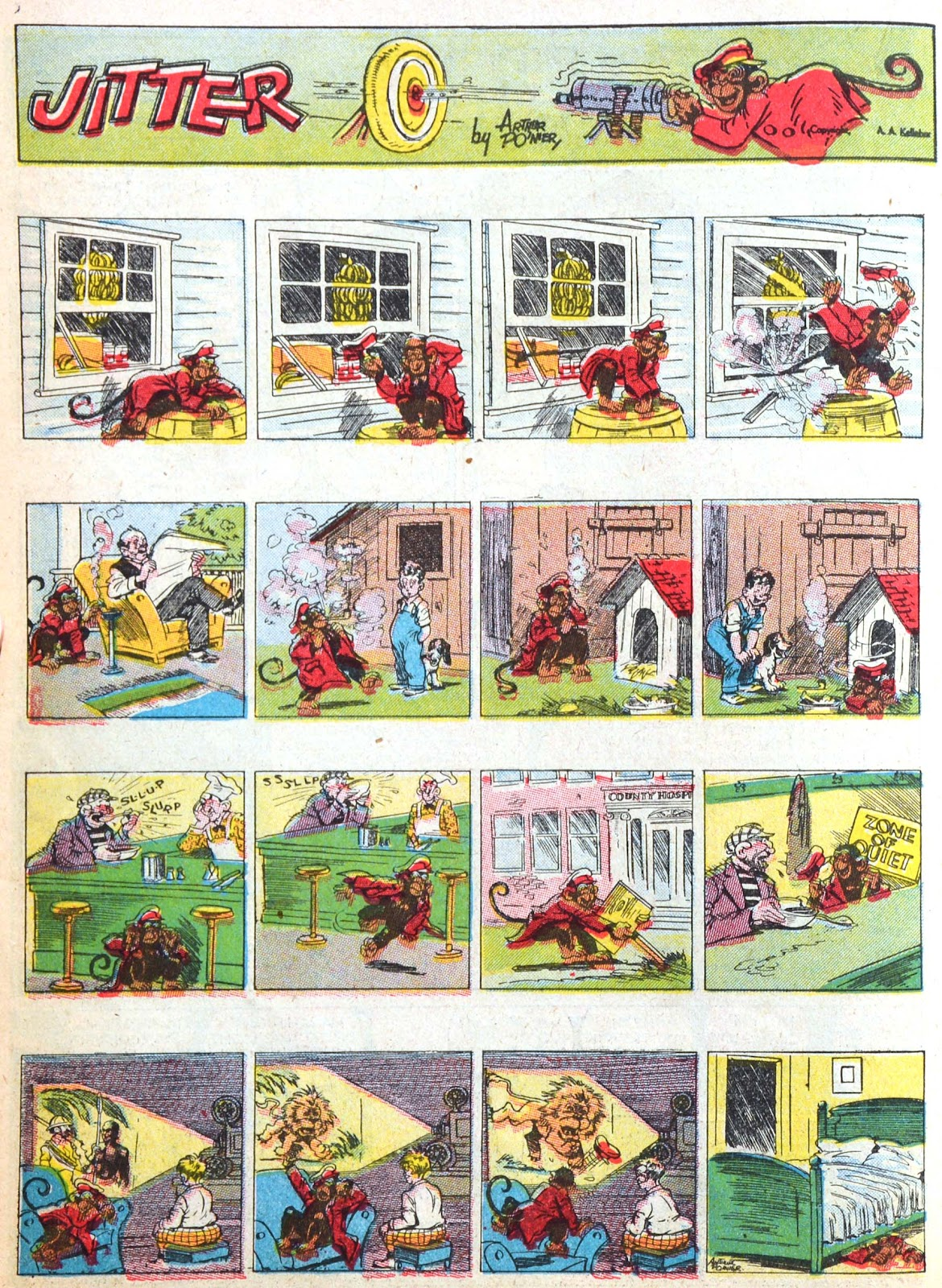 Read online Famous Funnies comic -  Issue #52 - 24