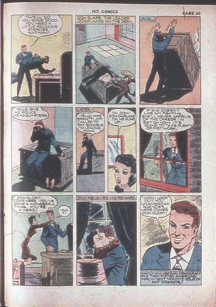 Read online Hit Comics comic -  Issue #8 - 65