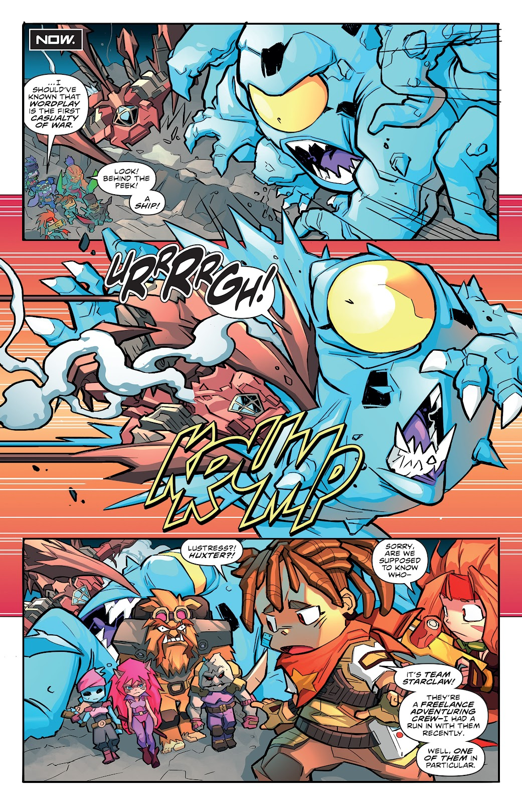 Read online Starcadia Quest comic -  Issue #3 - 12
