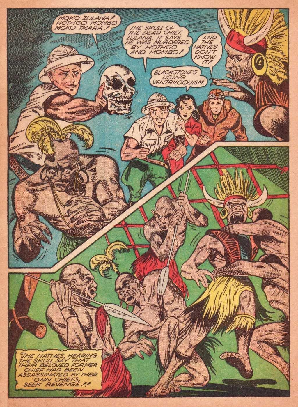 Read online Super-Magician Comics comic -  Issue #2 - 12