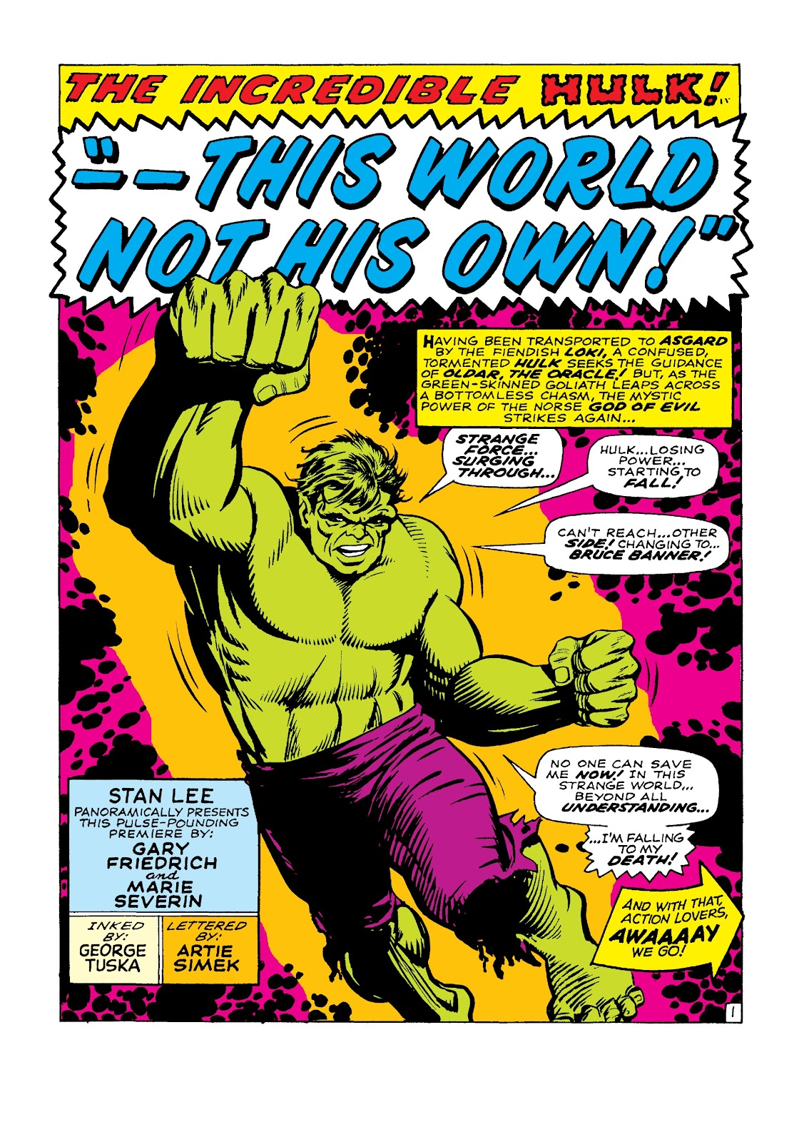 Read online Marvel Masterworks: The Incredible Hulk comic -  Issue # TPB 3 (Part 3) - 64