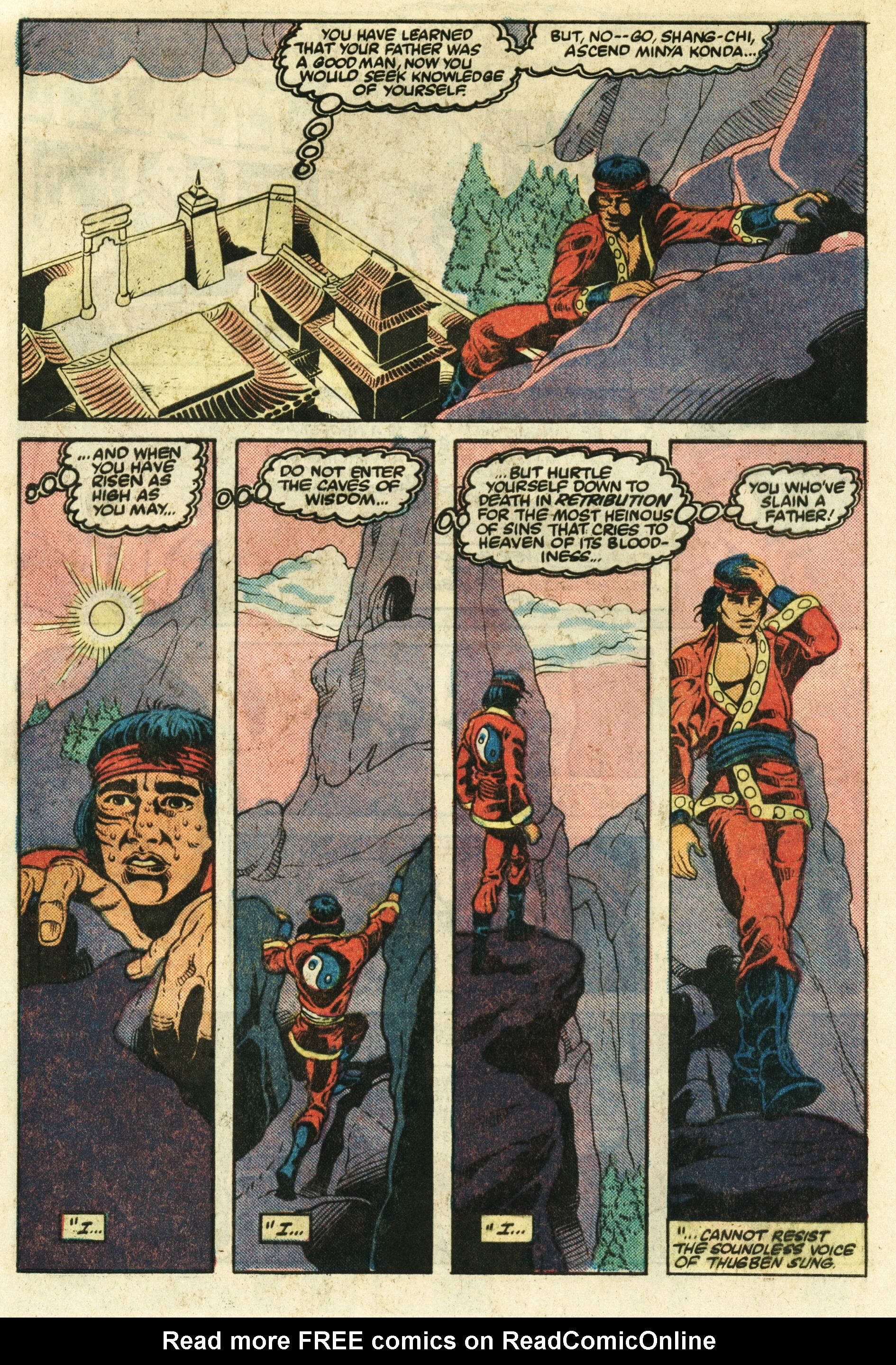 Read online Master of Kung Fu (1974) comic -  Issue #124 - 21
