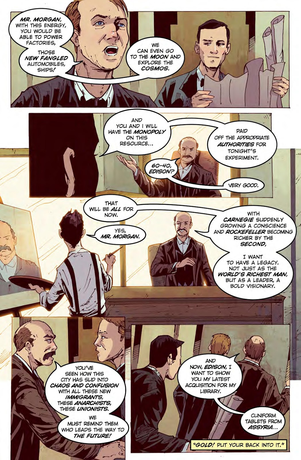 Read online American Dreams comic -  Issue #1 - 7