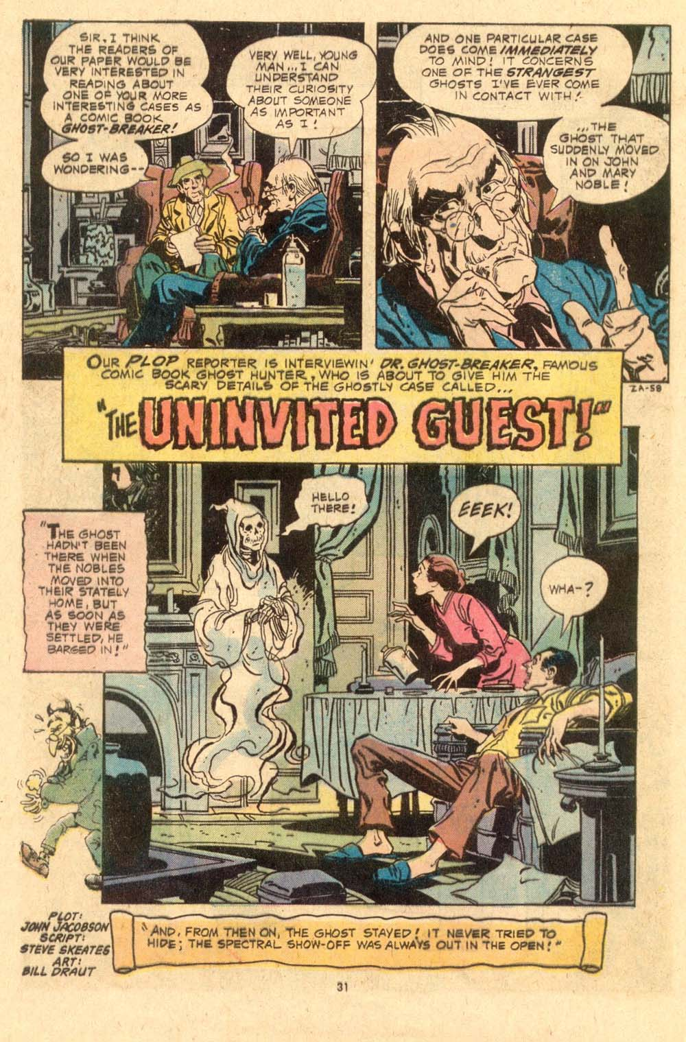 Read online Plop! comic -  Issue #6 - 32