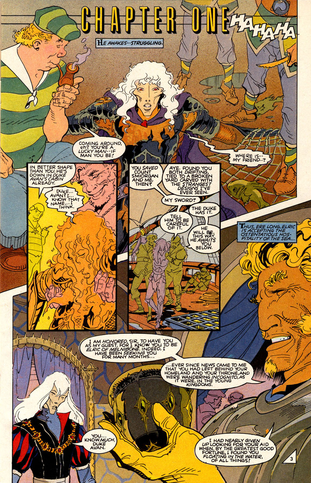 Read online Elric: Sailor on the Seas of Fate comic -  Issue #6 - 5
