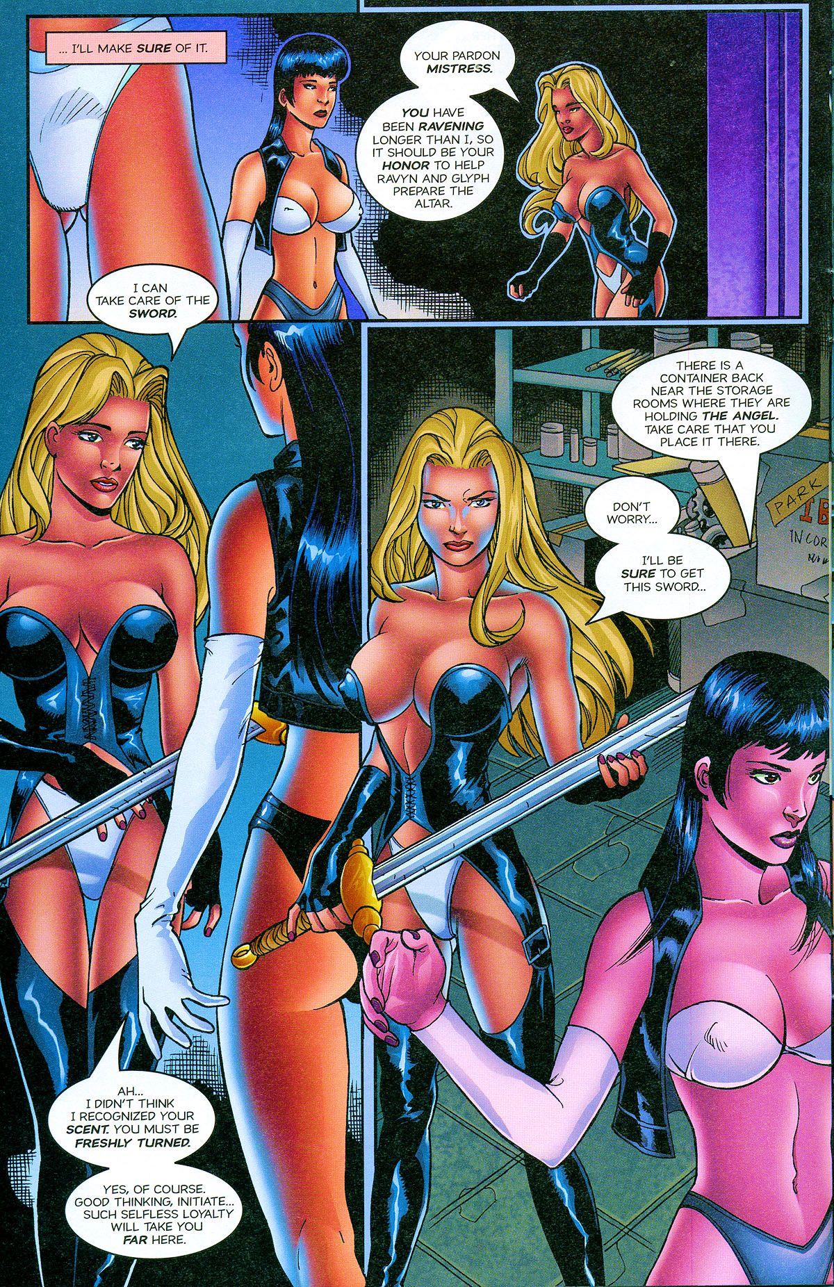 Read online Avengelyne: Bad Blood comic -  Issue #2 - 13