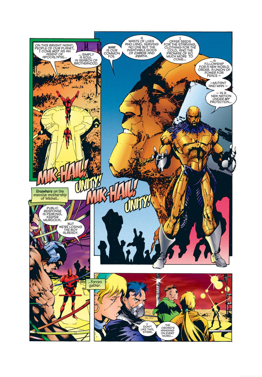 Read online X-Universe comic -  Issue #1 - 31