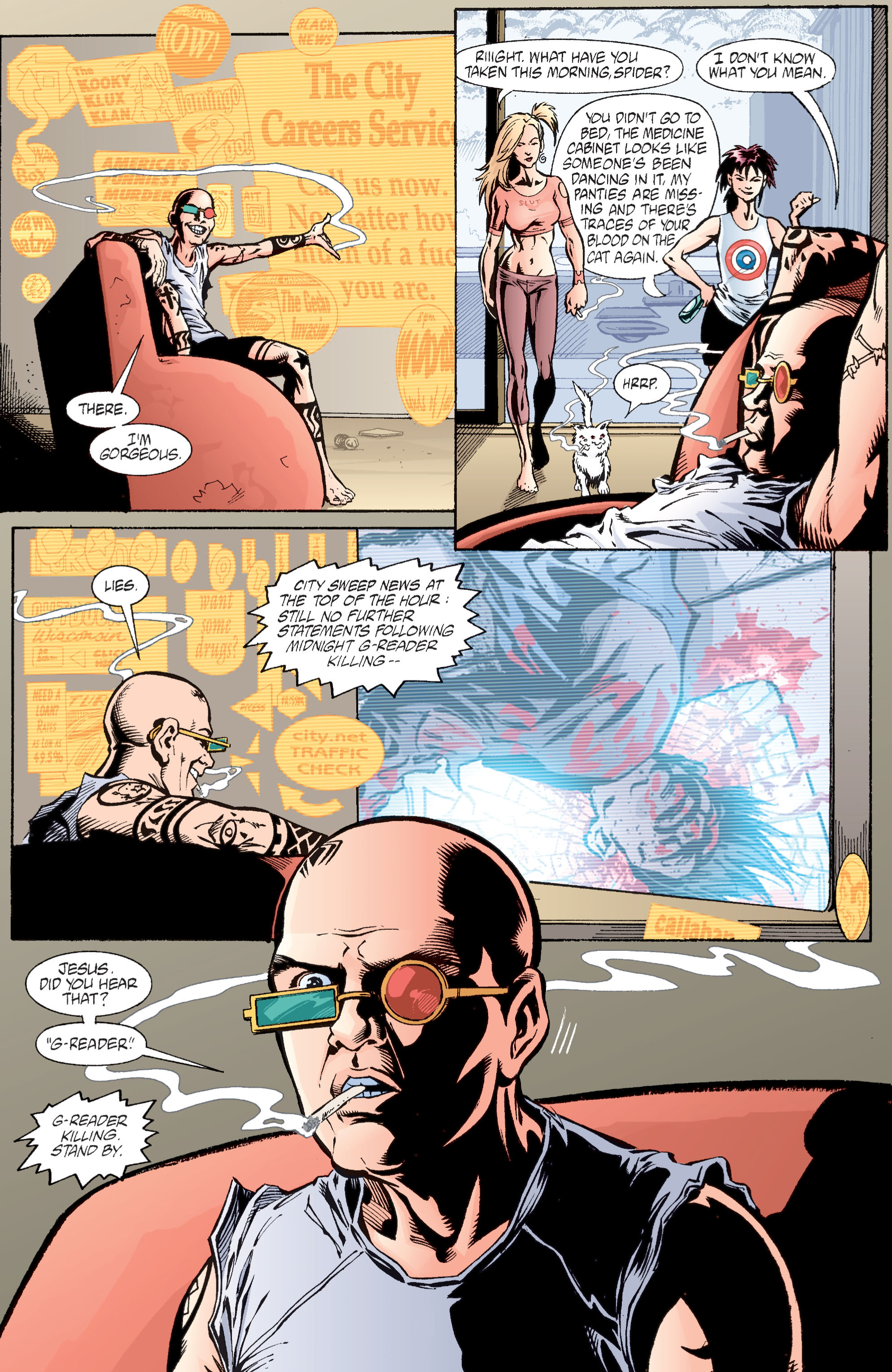 Read online Transmetropolitan comic -  Issue #28 - 12