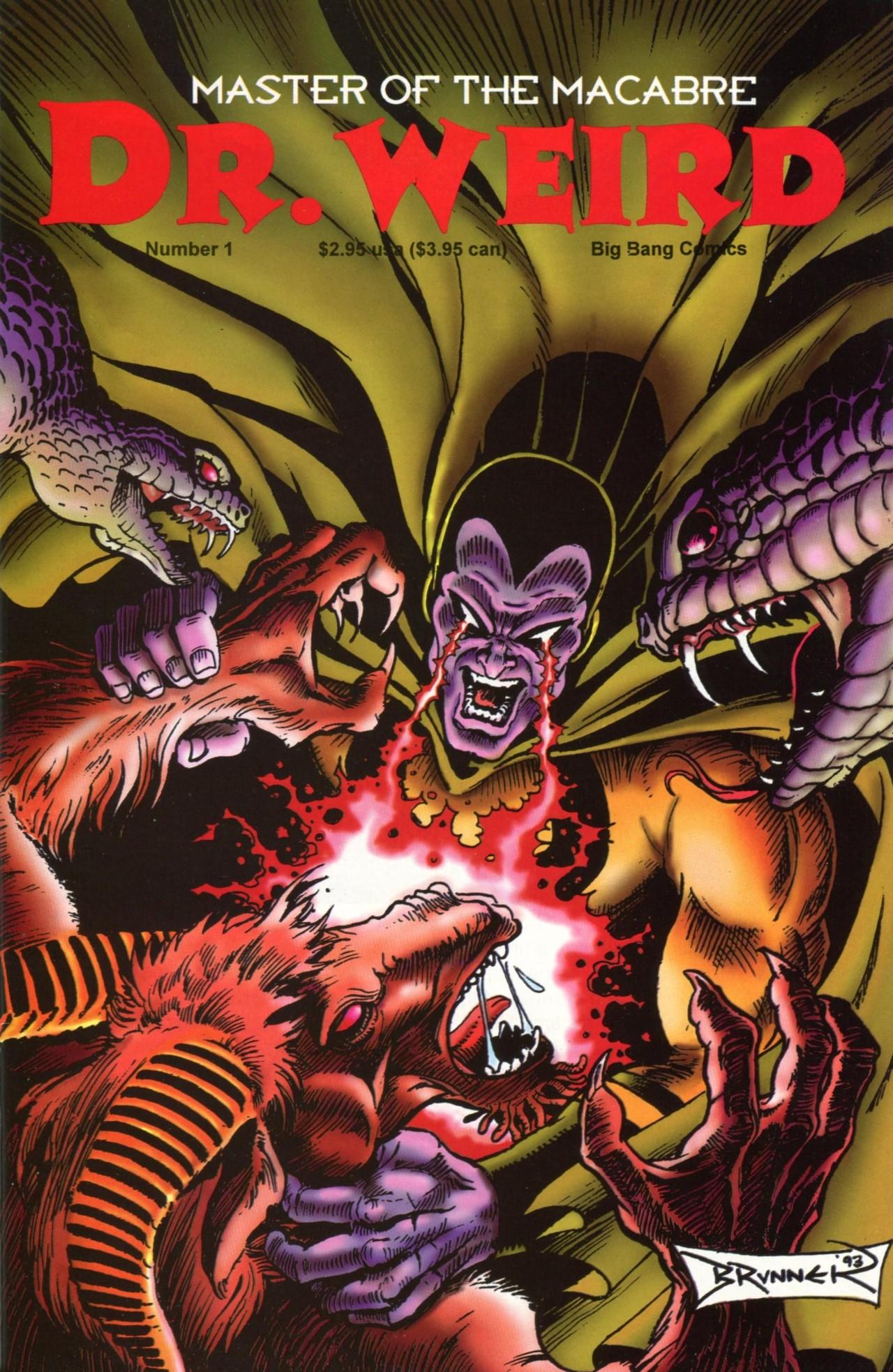Read online Dr. Weird (1994) comic -  Issue #1 - 1