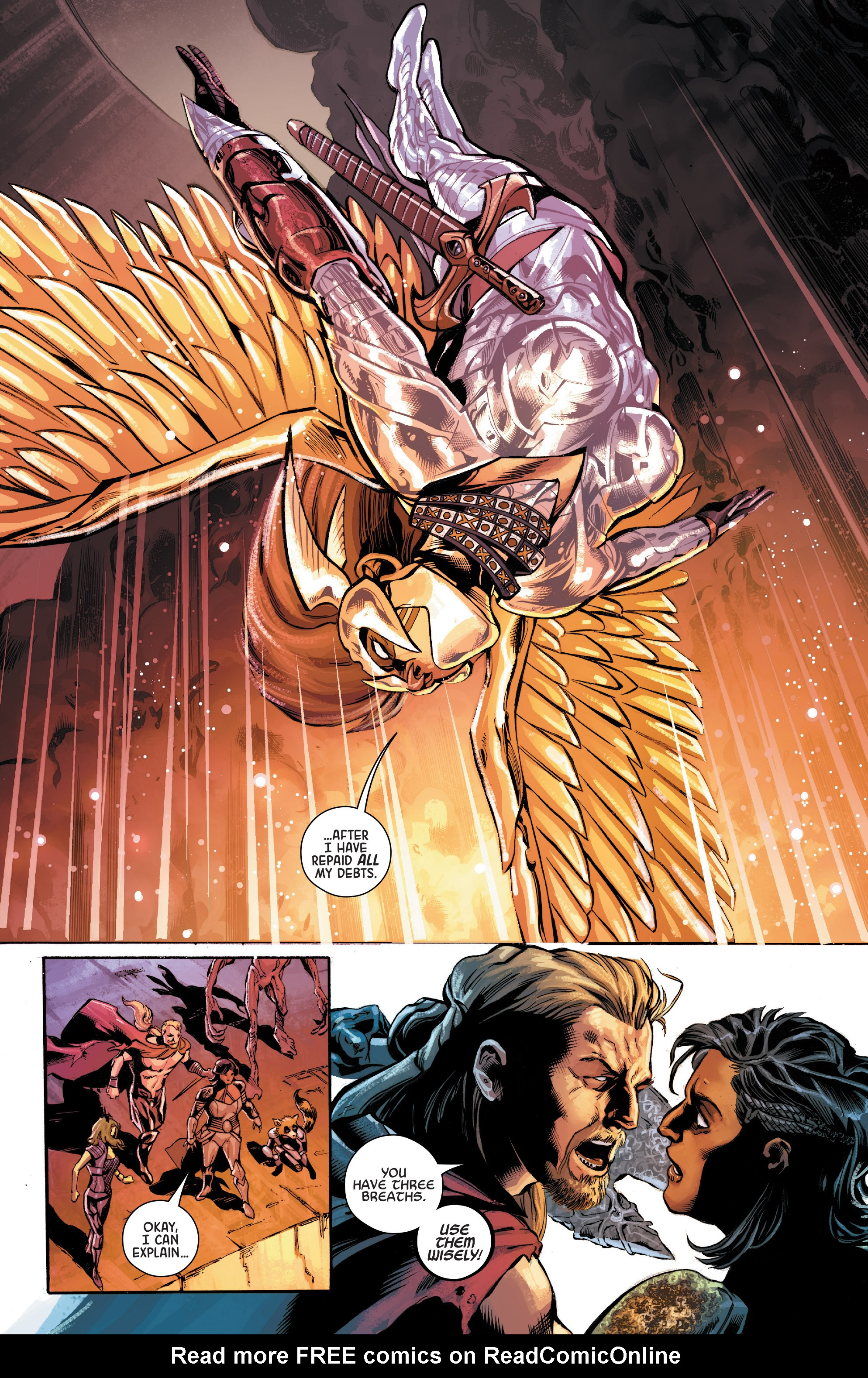 Read online Angela: Asgard's Assassin comic -  Issue #6 - 6