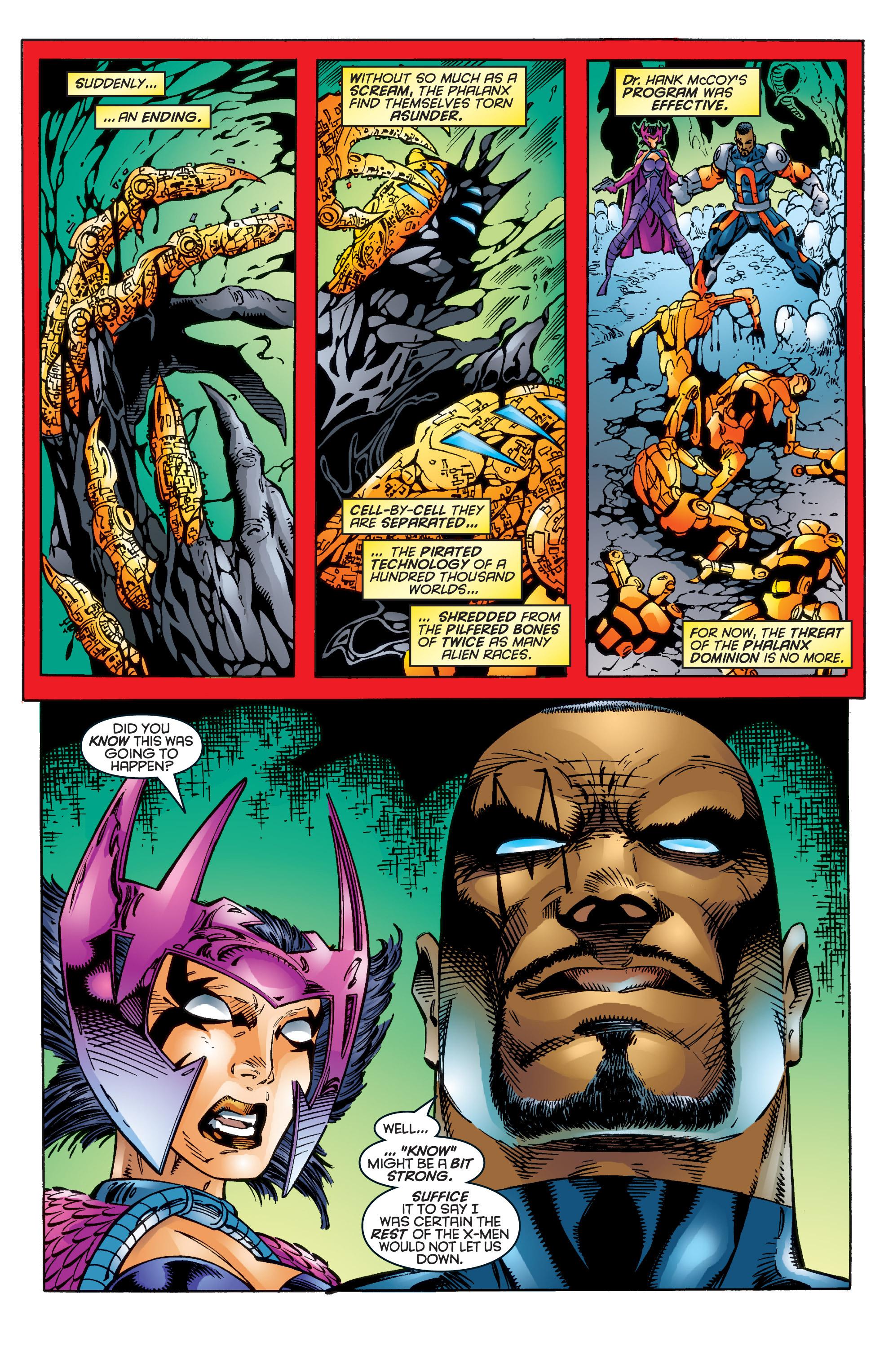 Read online Uncanny X-Men (1963) comic -  Issue #344 - 21