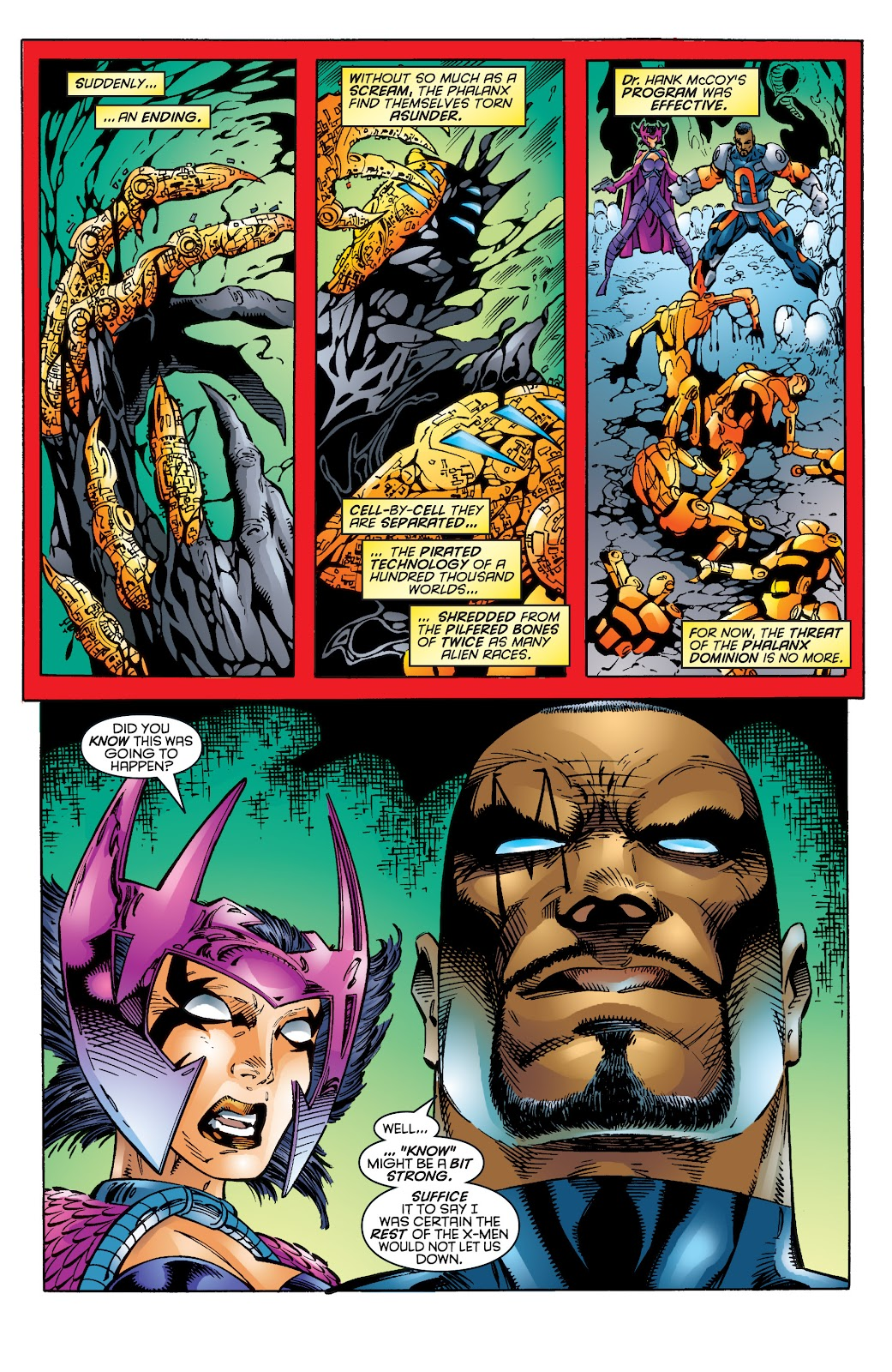 Uncanny X-Men (1963) issue 344 - Page 21