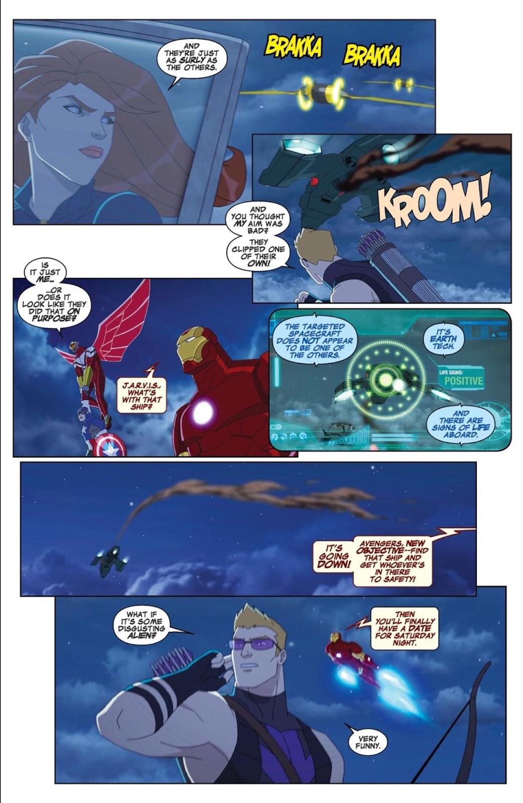 Read online Marvel Universe Avengers Assemble Season 2 comic -  Issue #1 - 5