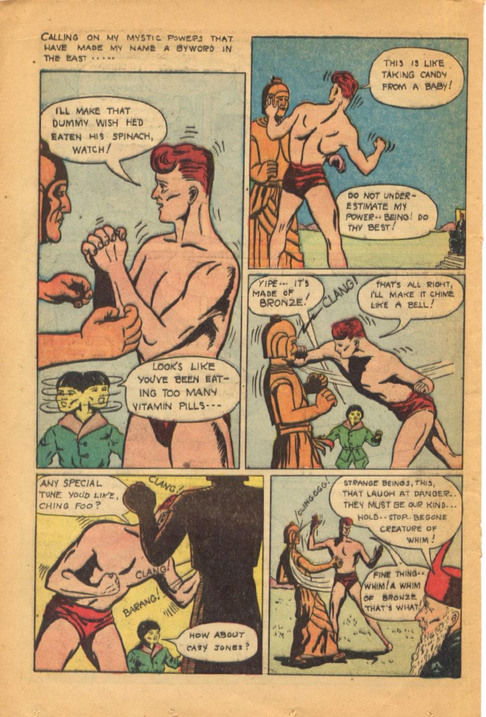 Read online Super-Magician Comics comic -  Issue #52 - 29