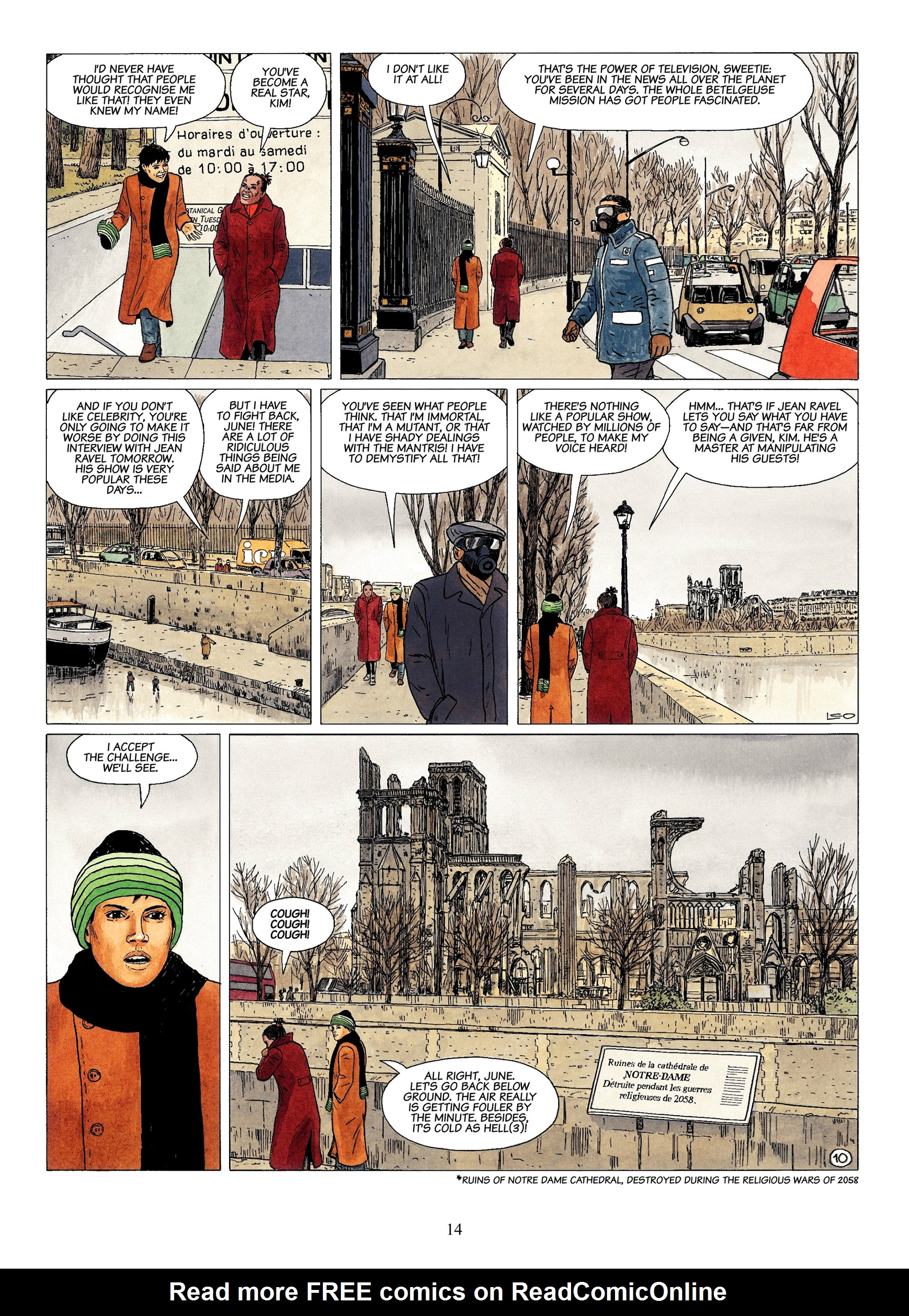 Read online Antares comic -  Issue #1 - 12