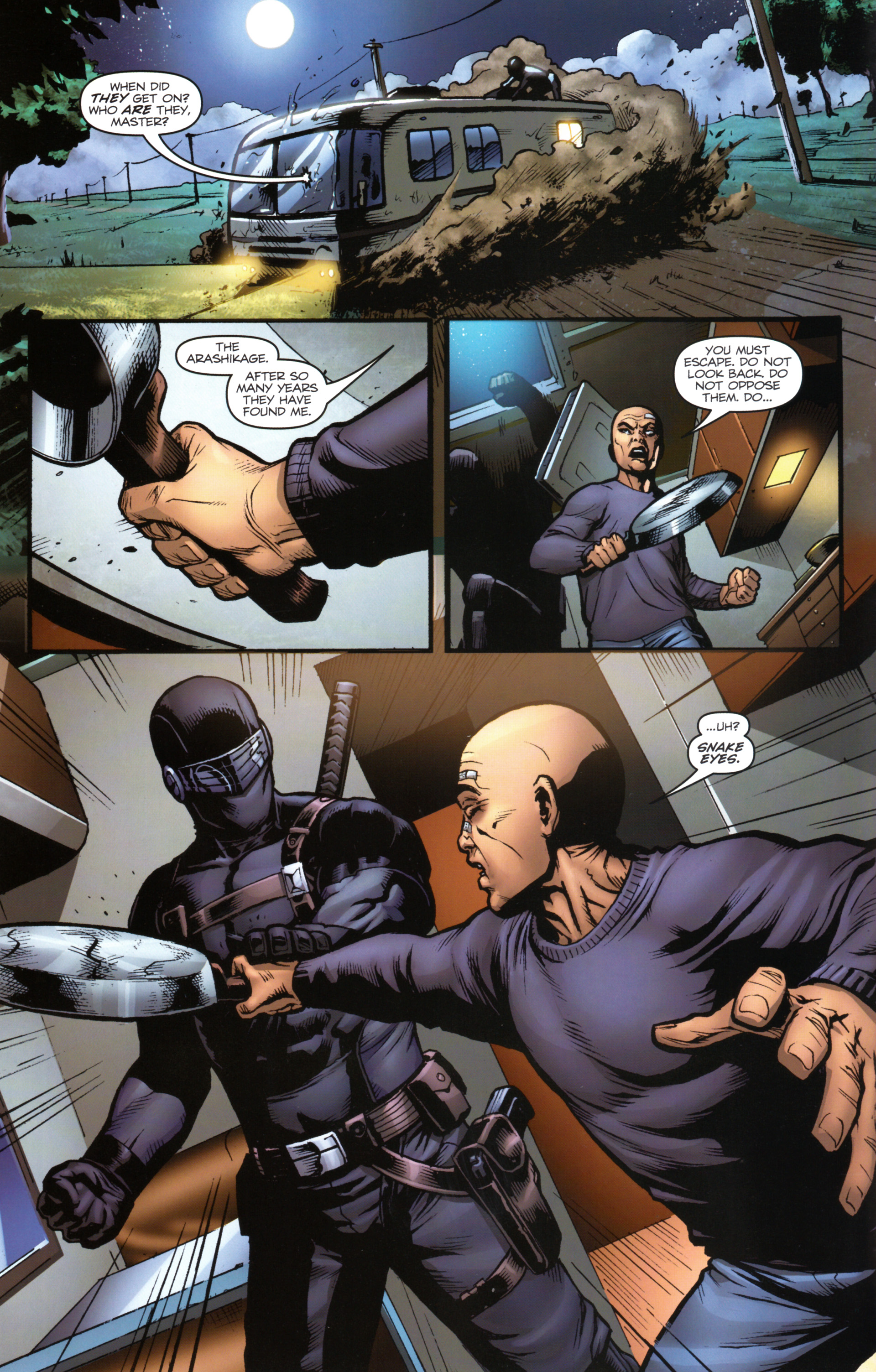 Read online Snake Eyes and Storm Shadow comic -  Issue #17 - 14