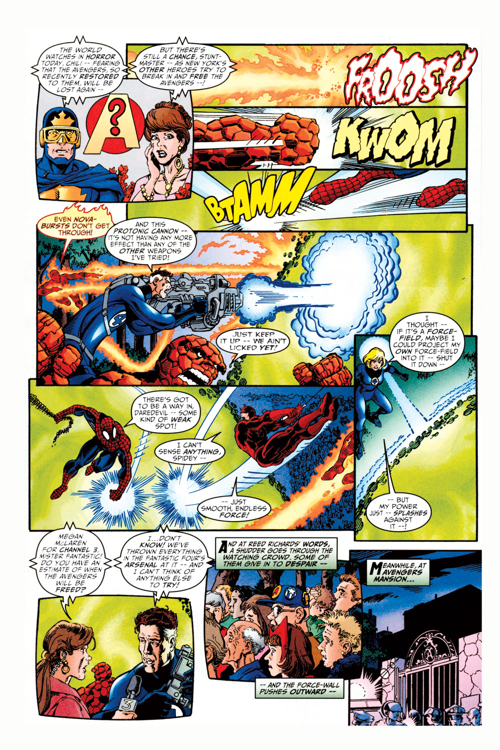 Read online Avengers (1998) comic -  Issue #11 - 7