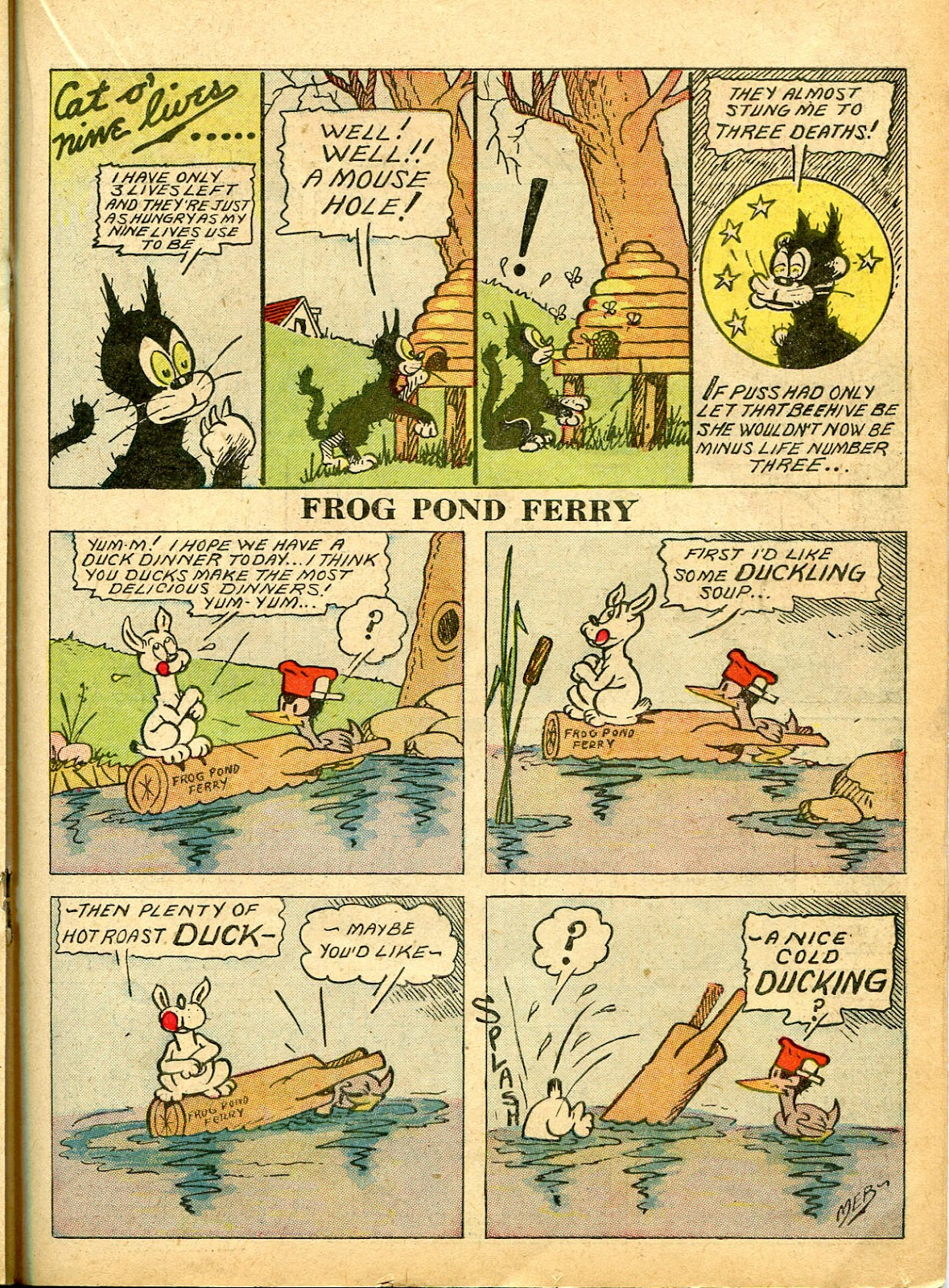 Read online Famous Funnies comic -  Issue #54 - 37
