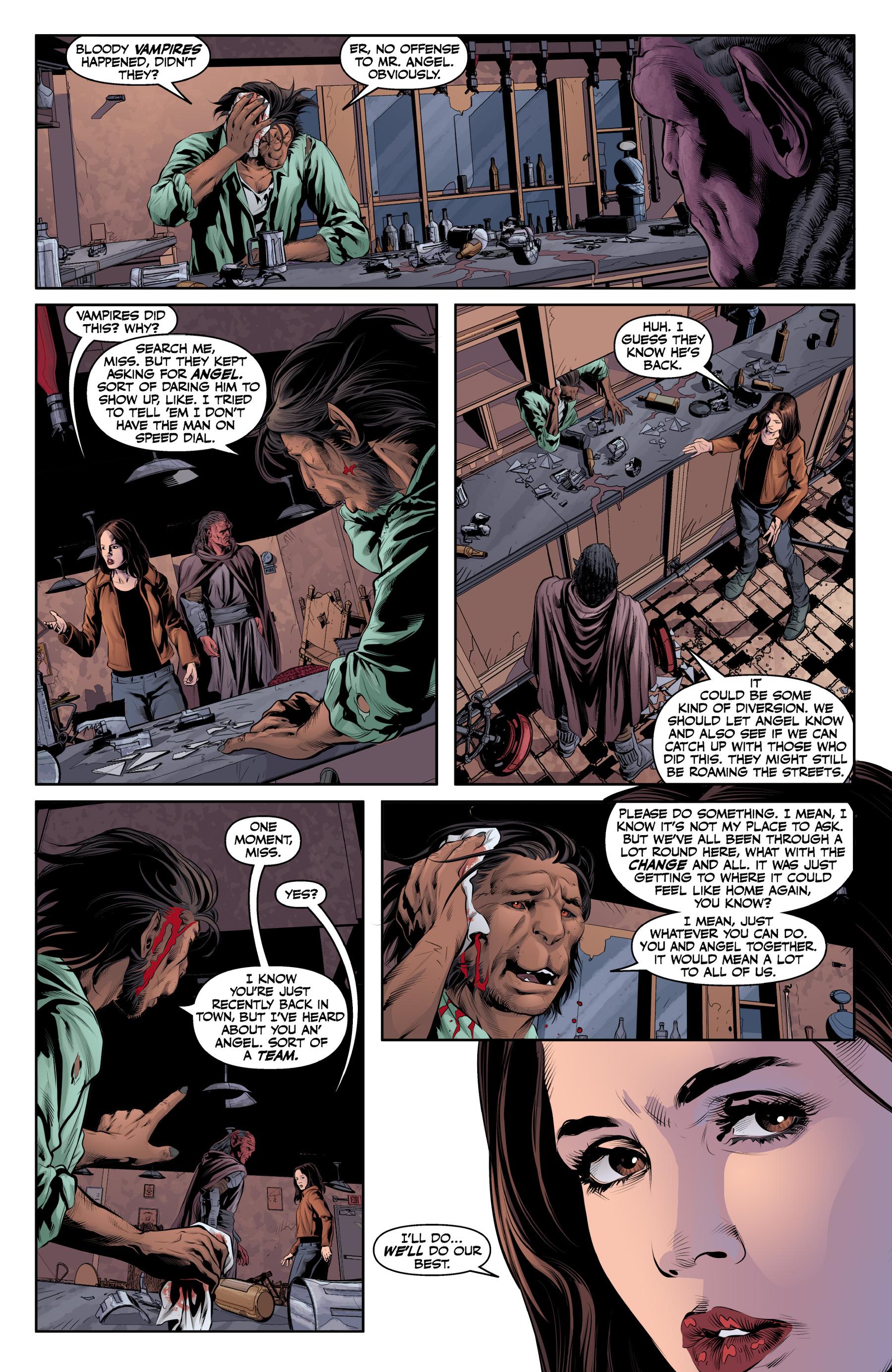 Read online Angel & Faith Season 10 comic -  Issue #19 - 15