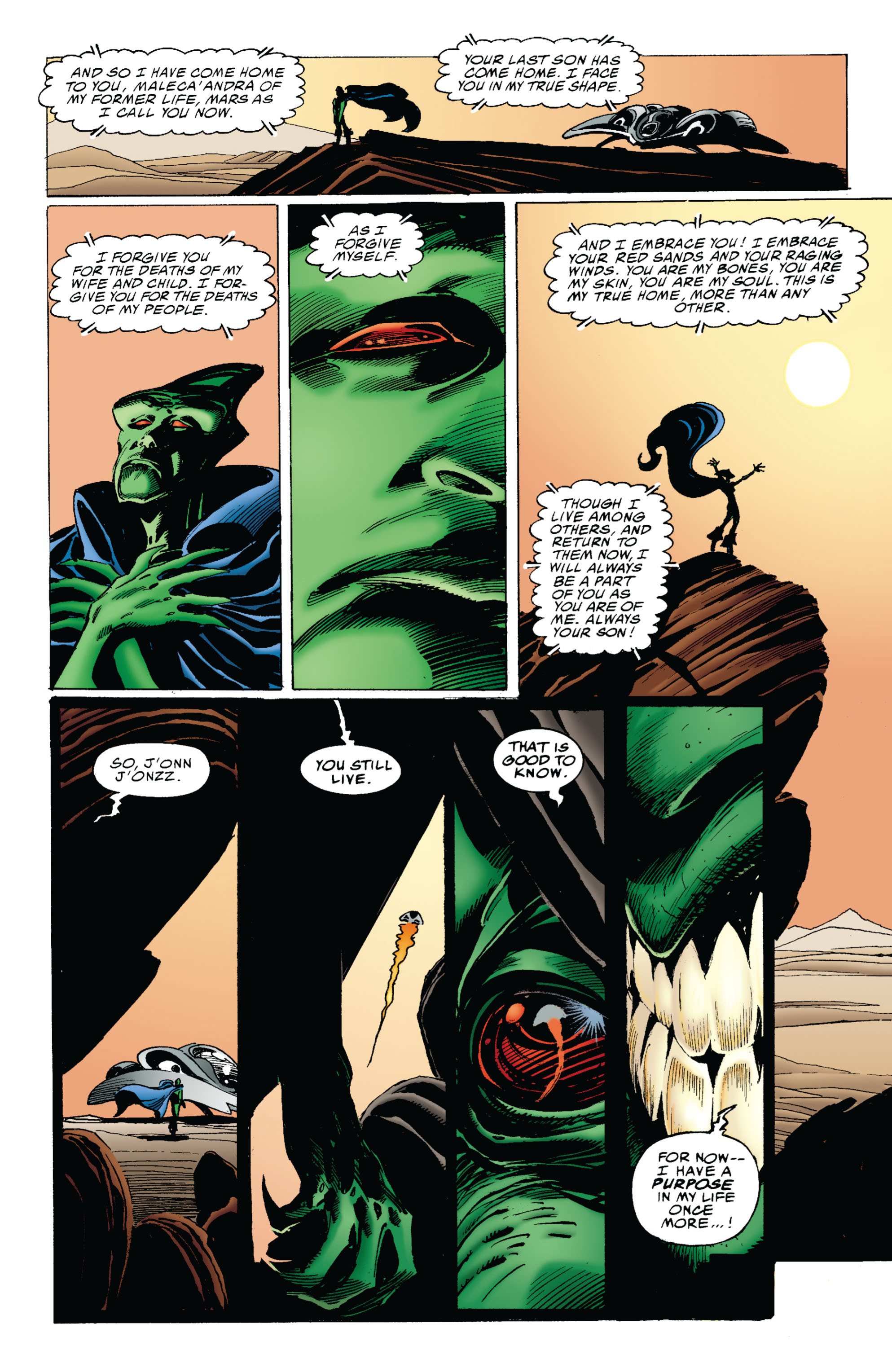 Read online Martian Manhunter: Son of Mars comic -  Issue # TPB - 30