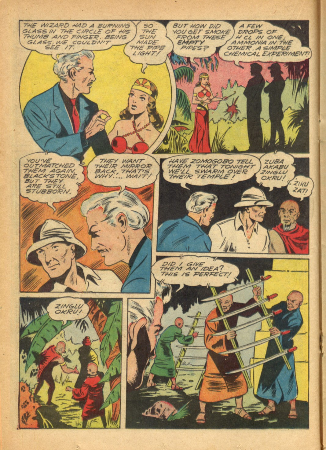 Read online Super-Magician Comics comic -  Issue #6 - 32